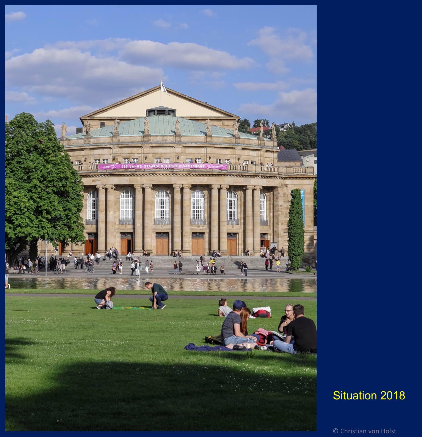 Opernhaus Gartenfront 2018