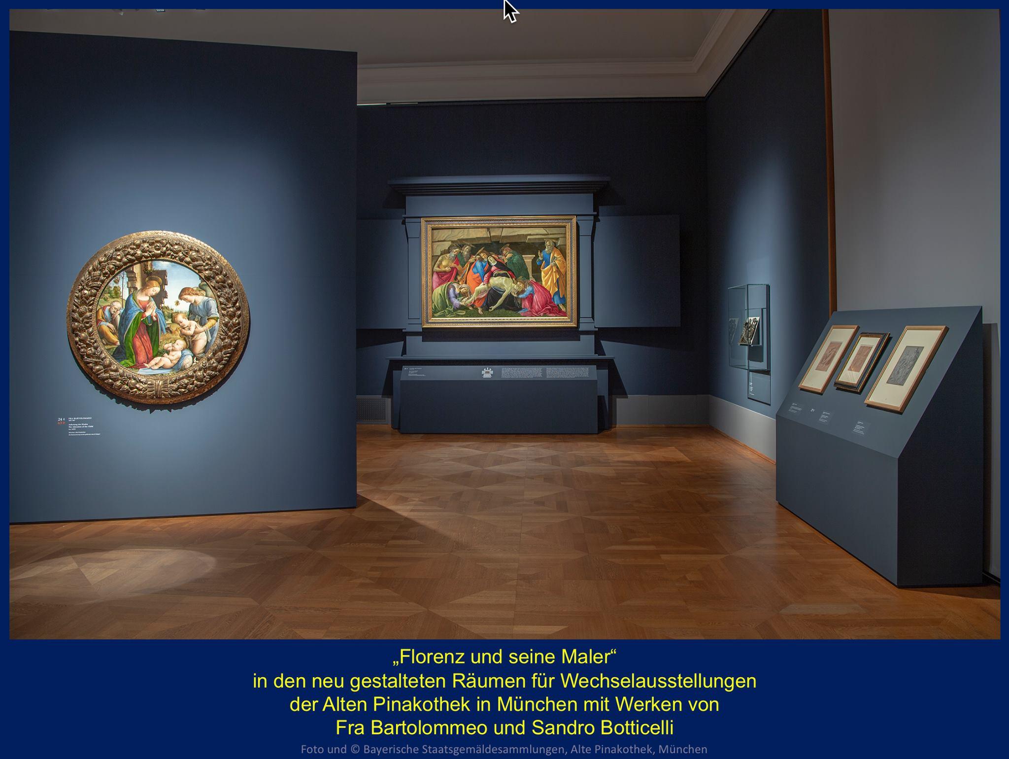 Meisterwerke von Botticelli und Fra Bartolommeo