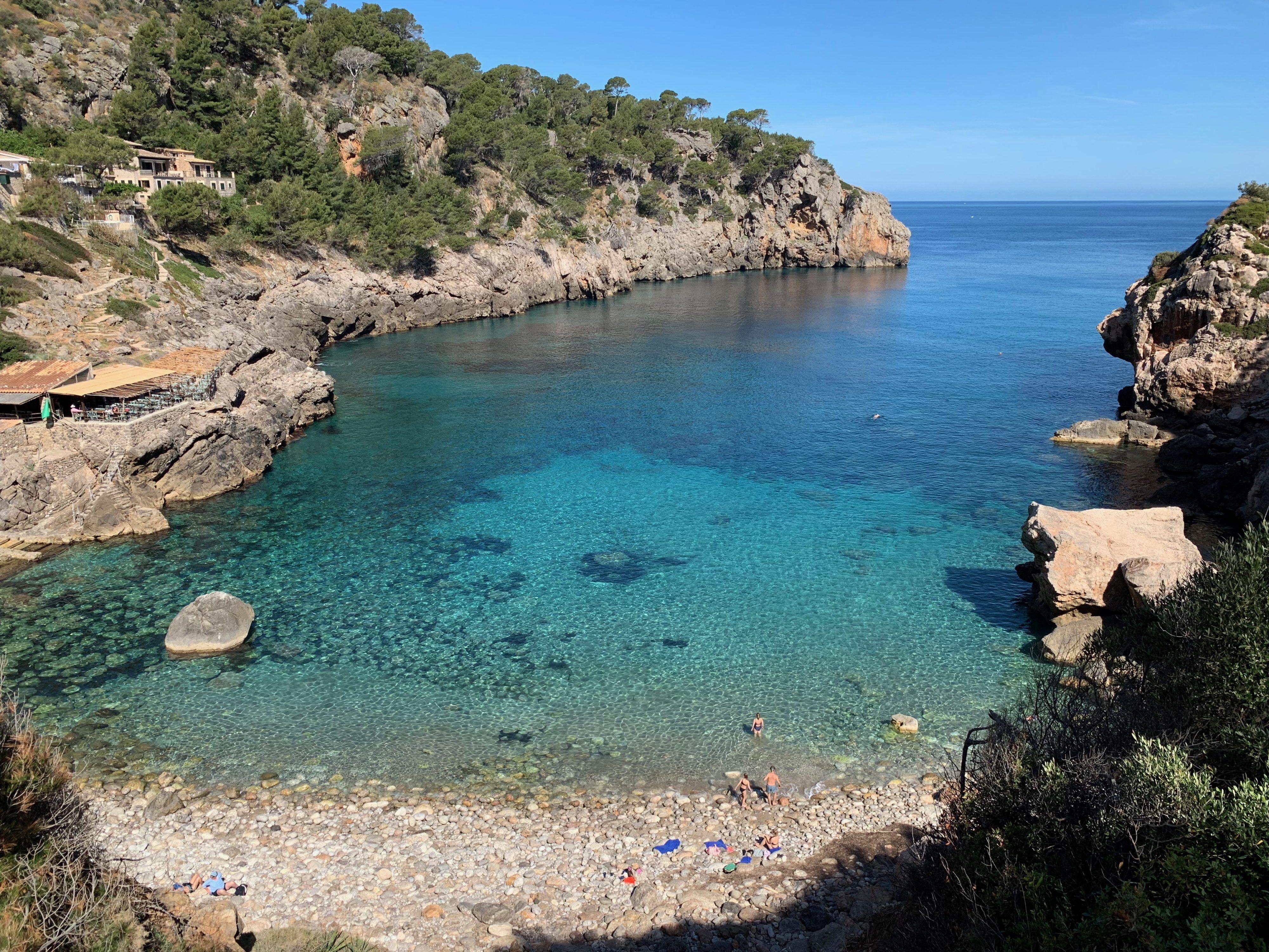 Cala de Deià bis Llucalcari Hafenbucht