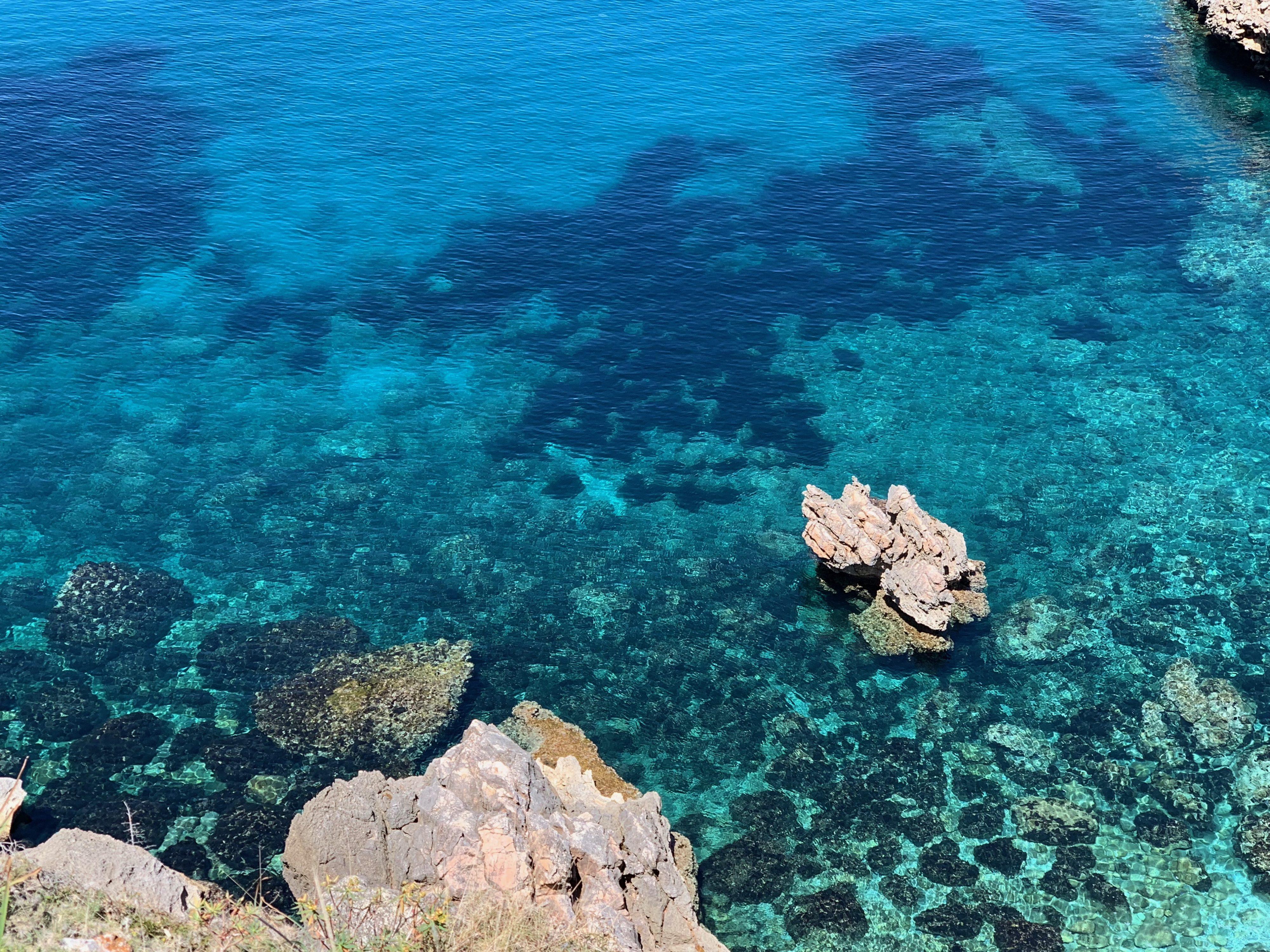 Mallorca Lluc Alcari Meeresweite