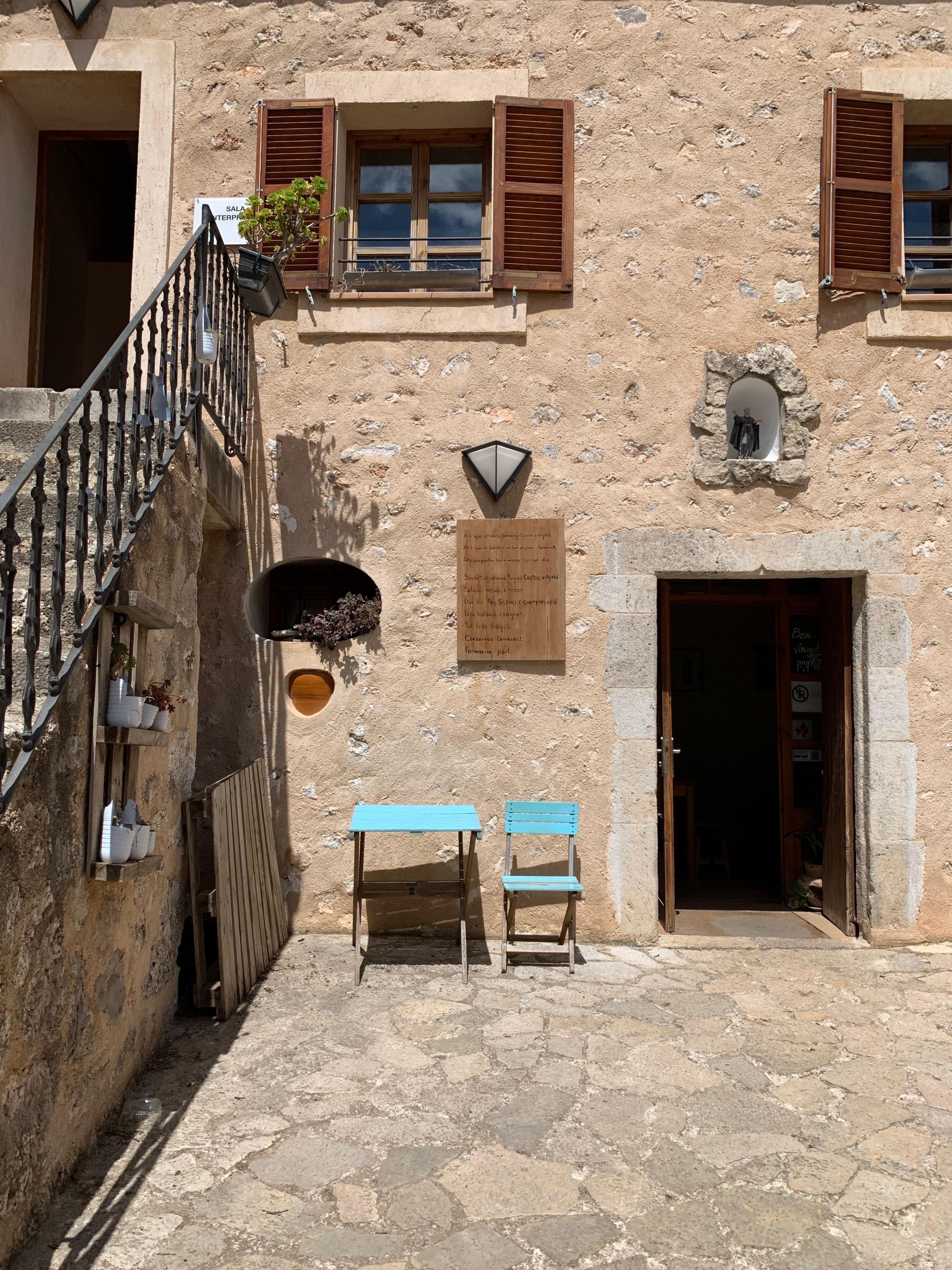 Castell d'Alaró im Landesinneren