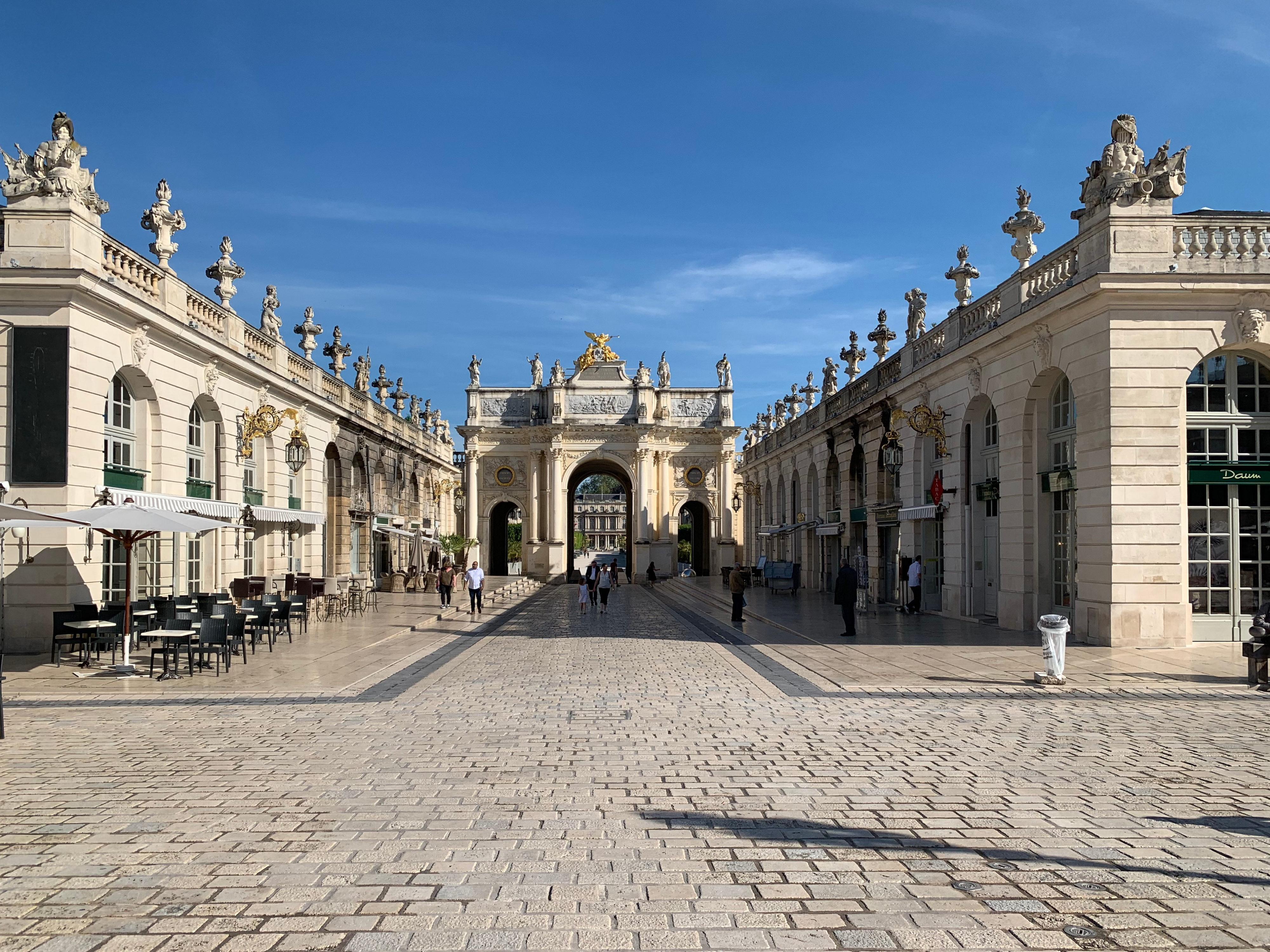 Nancy als Zwischenstation – Arc Héré