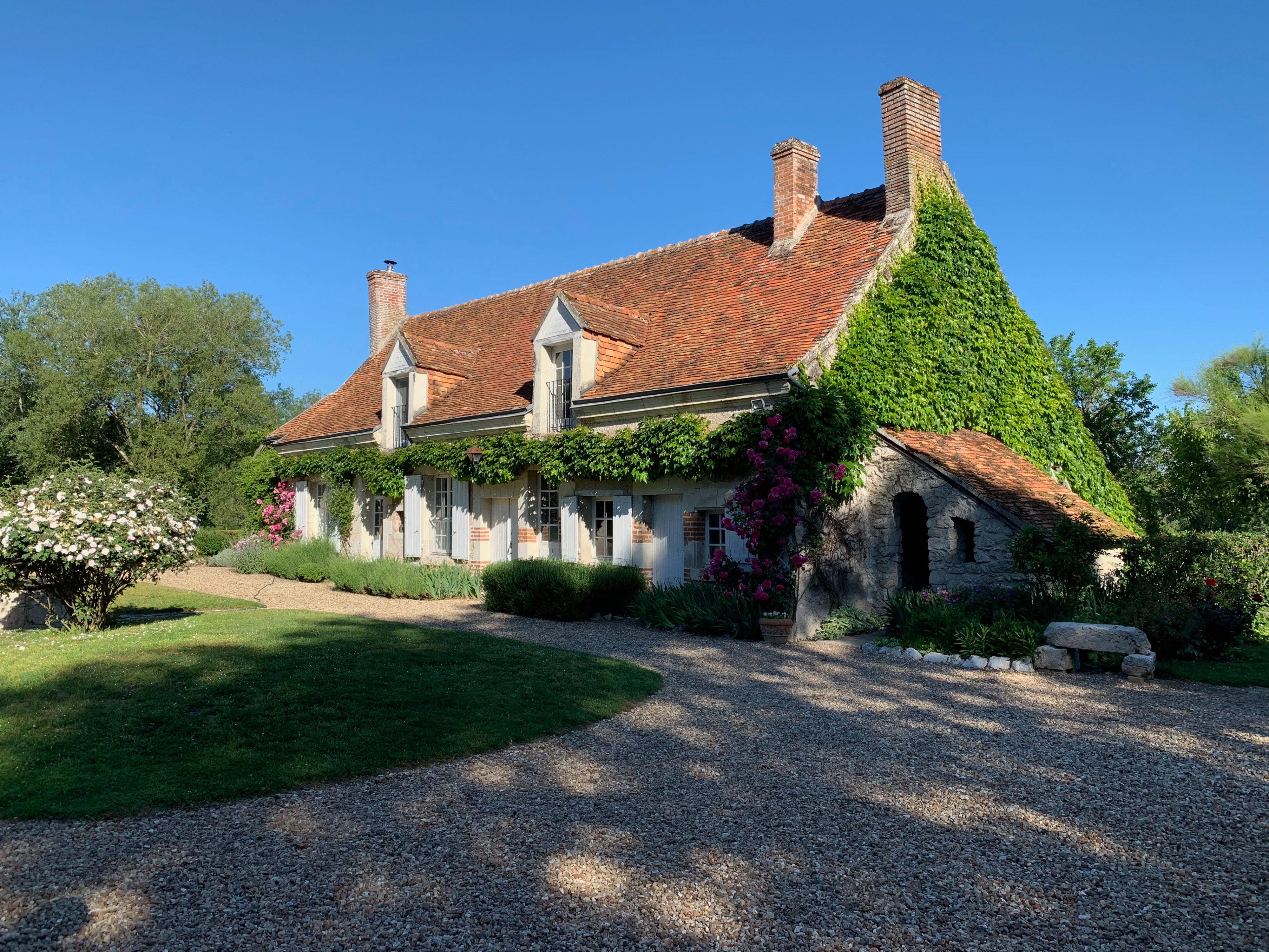 Cheverny – Unterkunft bei Wiesen und Wald – in beiden Häusern