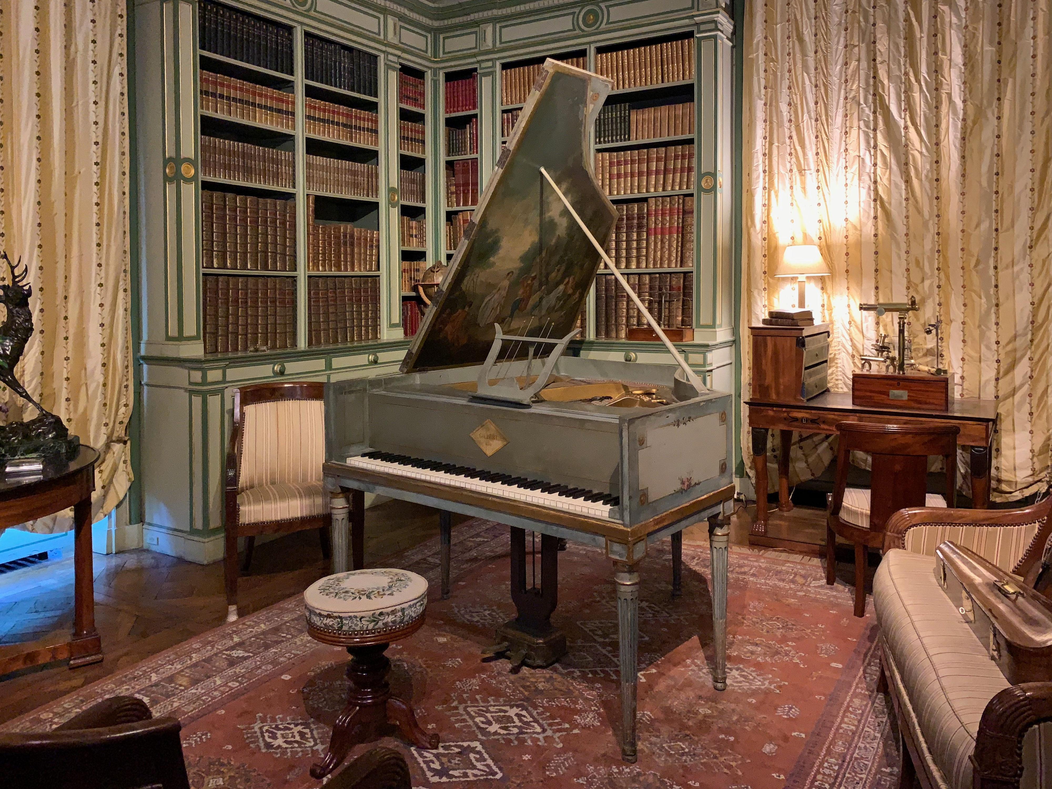 Cheverny Musikzimmer