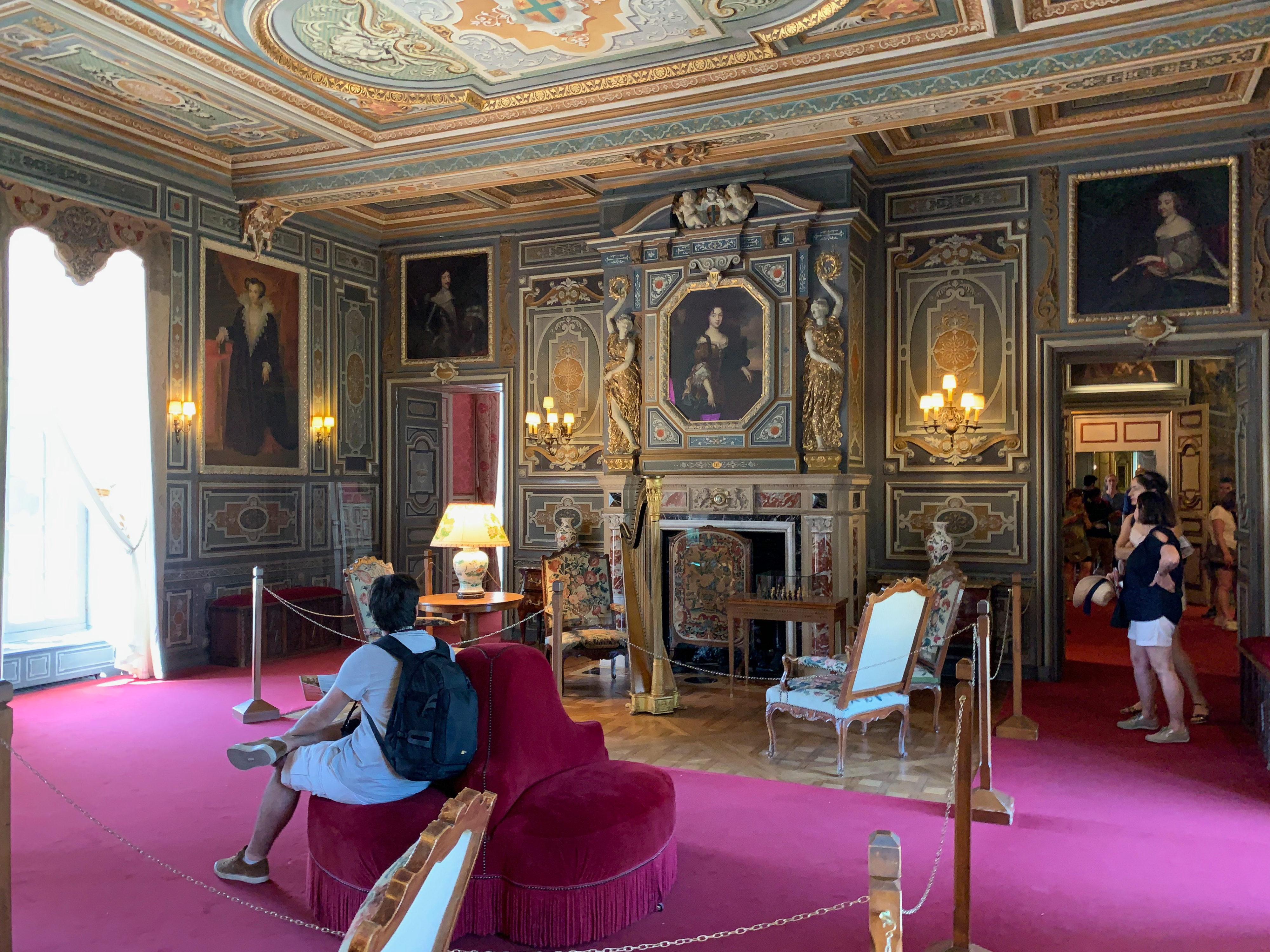 Château de Cheverny – ein Prachtbau Großer Salon
