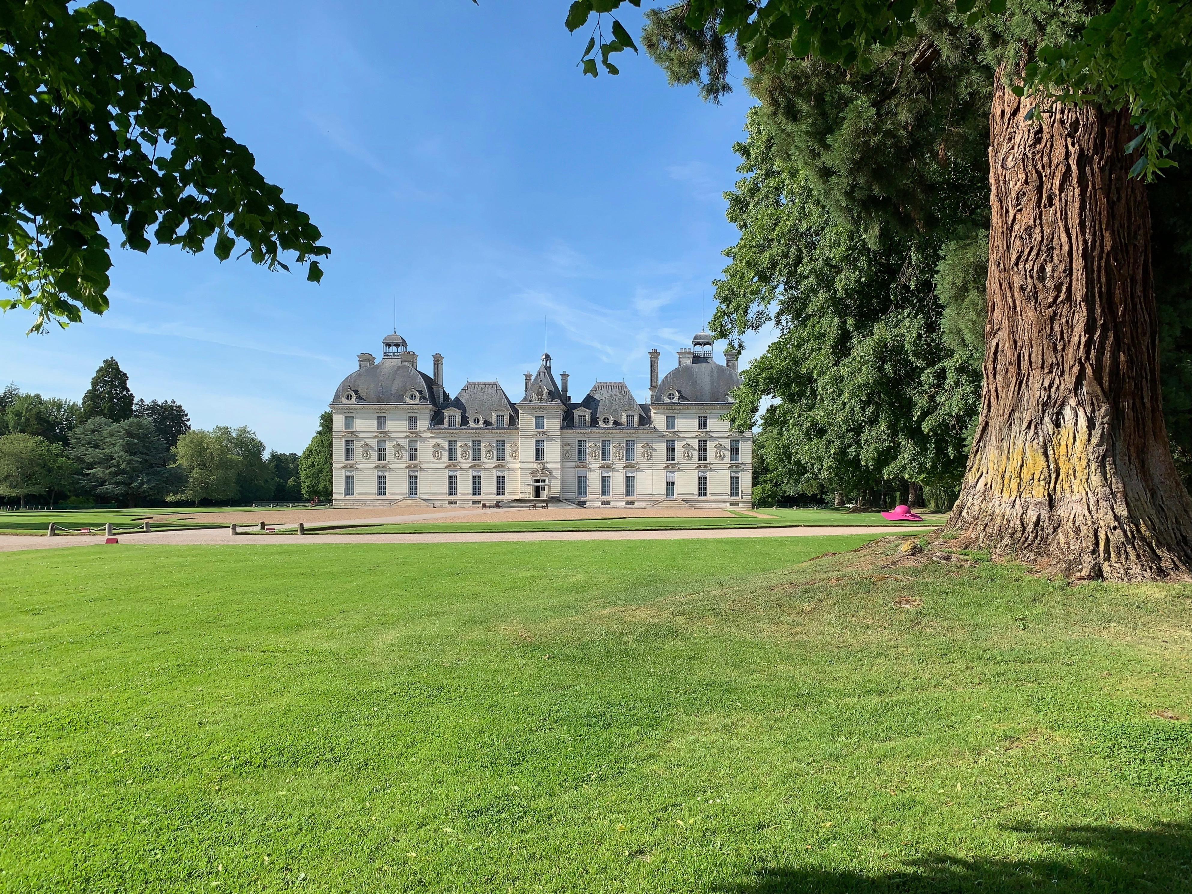 Château de Cheverny – ein Prachtbau Abendansicht