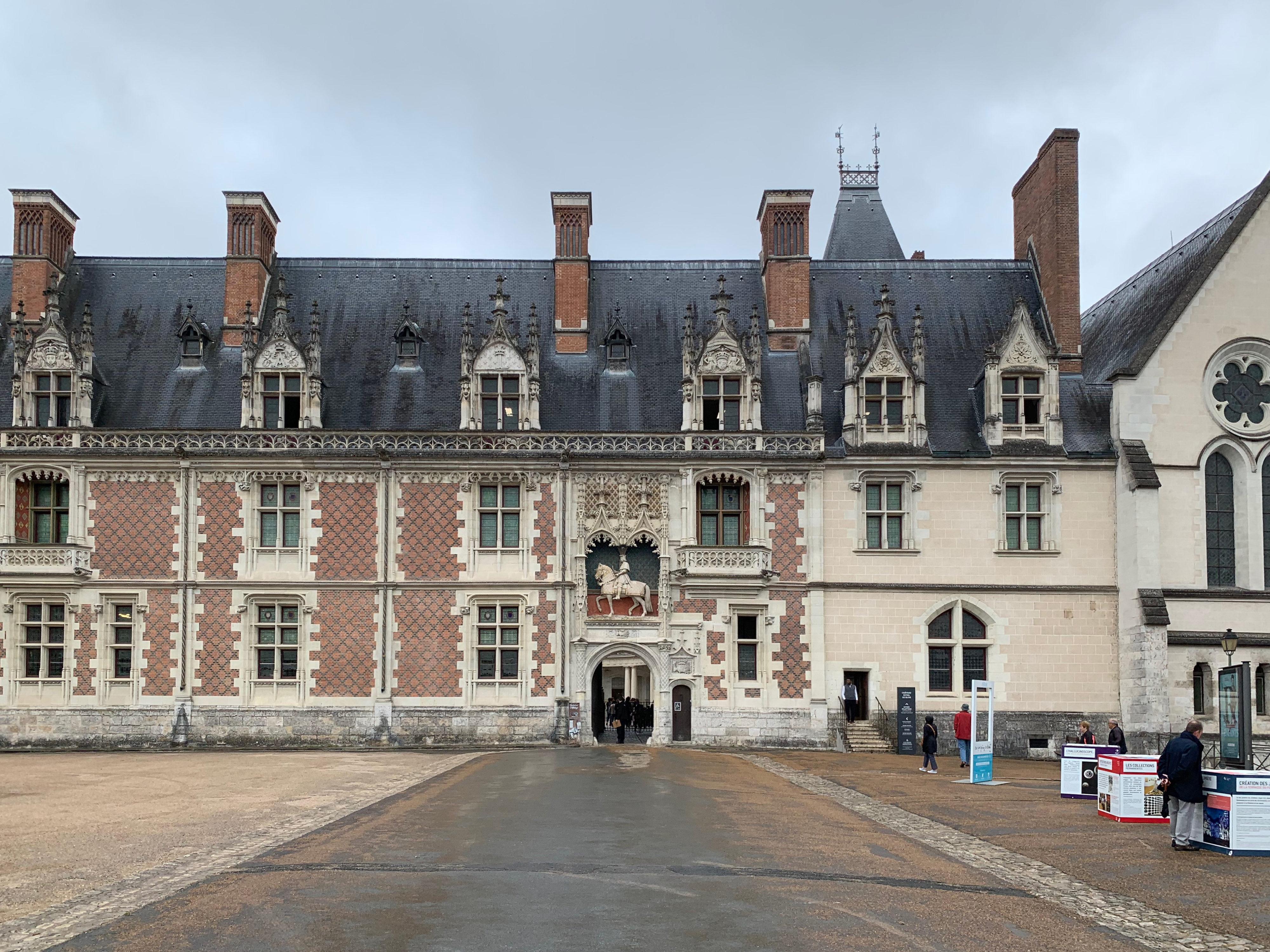 Blois, Residenz der Könige Hauptfront