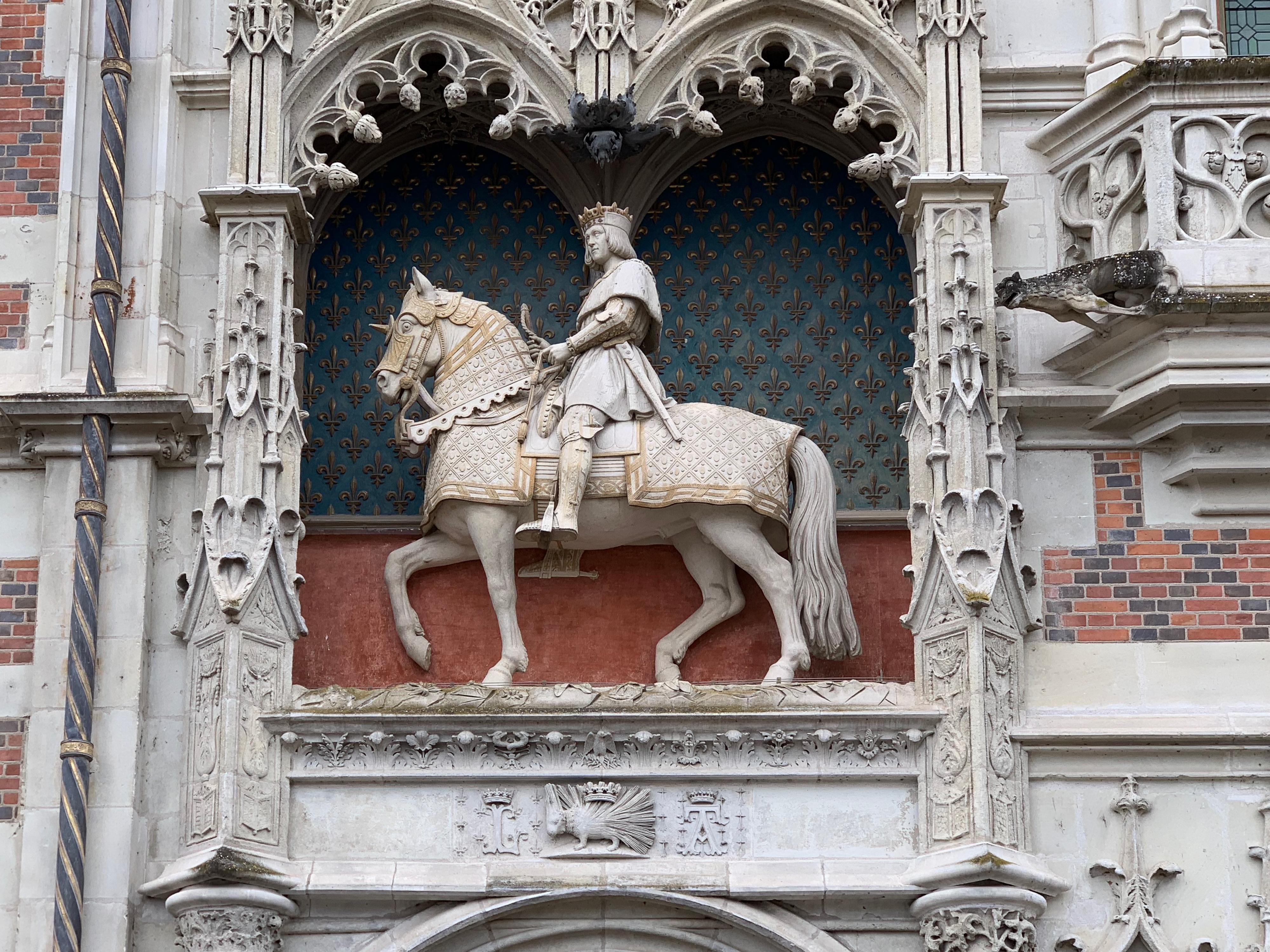 Ludwig XII zu Pferde