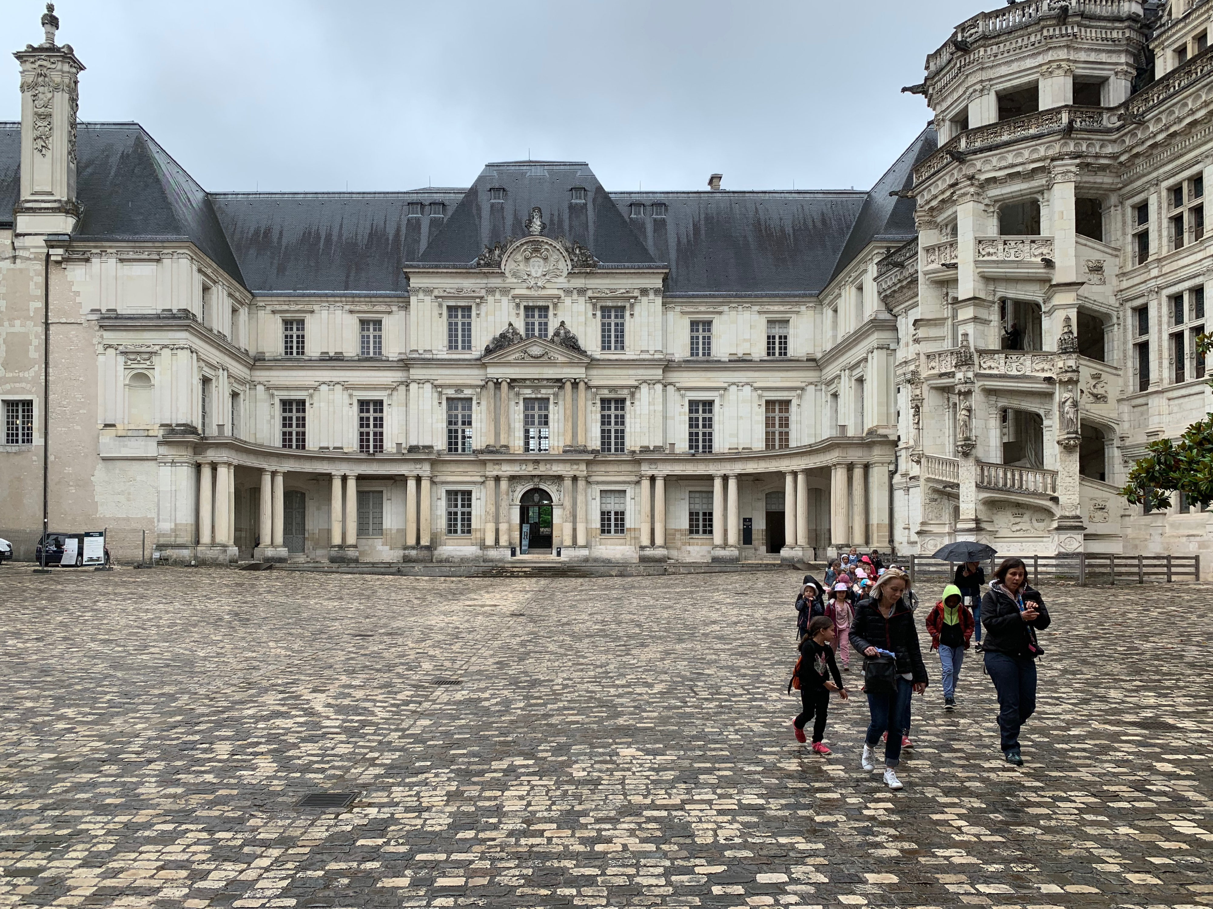 Blois, Residenz der Könige Flügel von Gaston d'Orléans