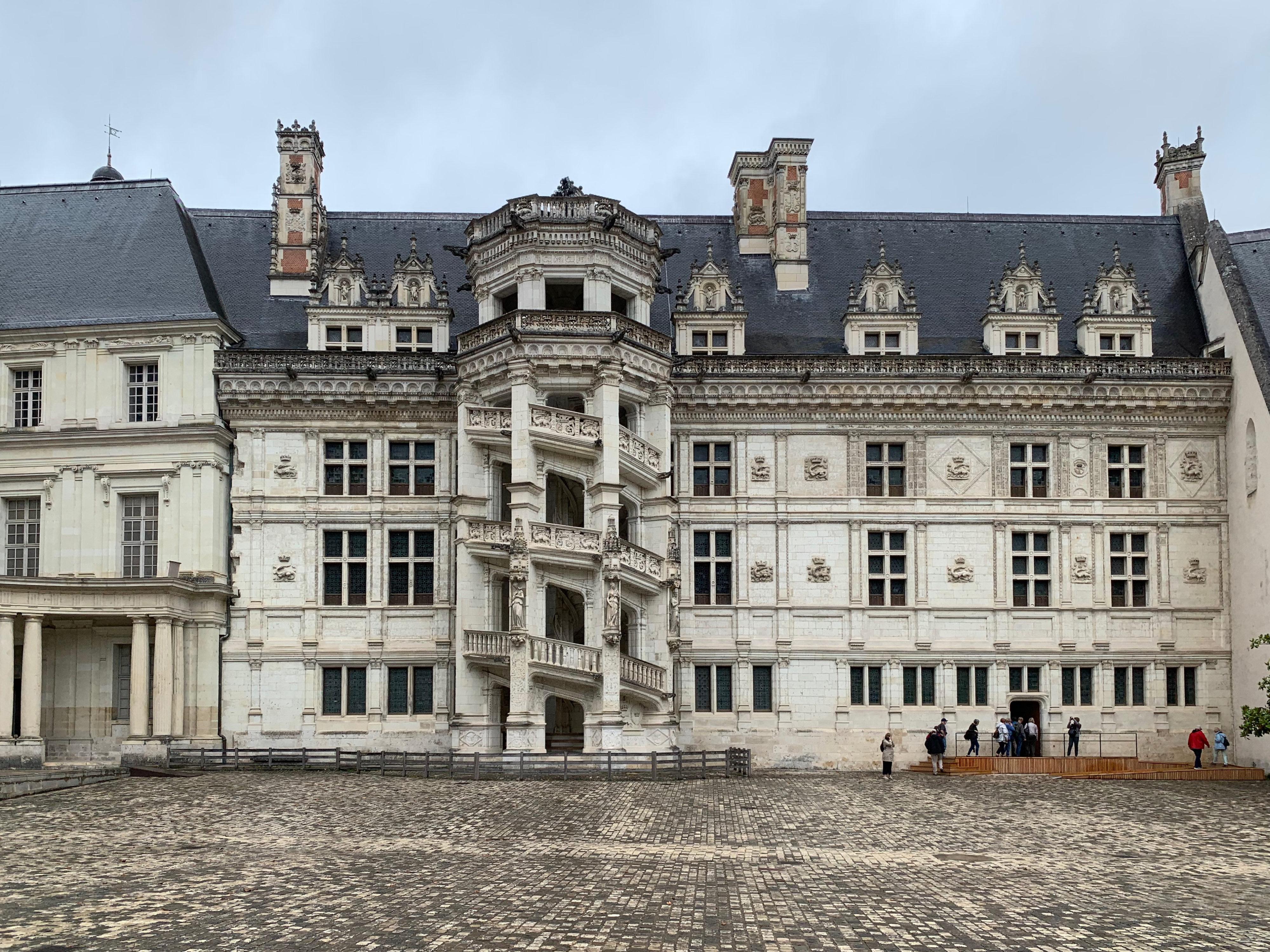 Blois, Residenz der Könige Flügel Franz I