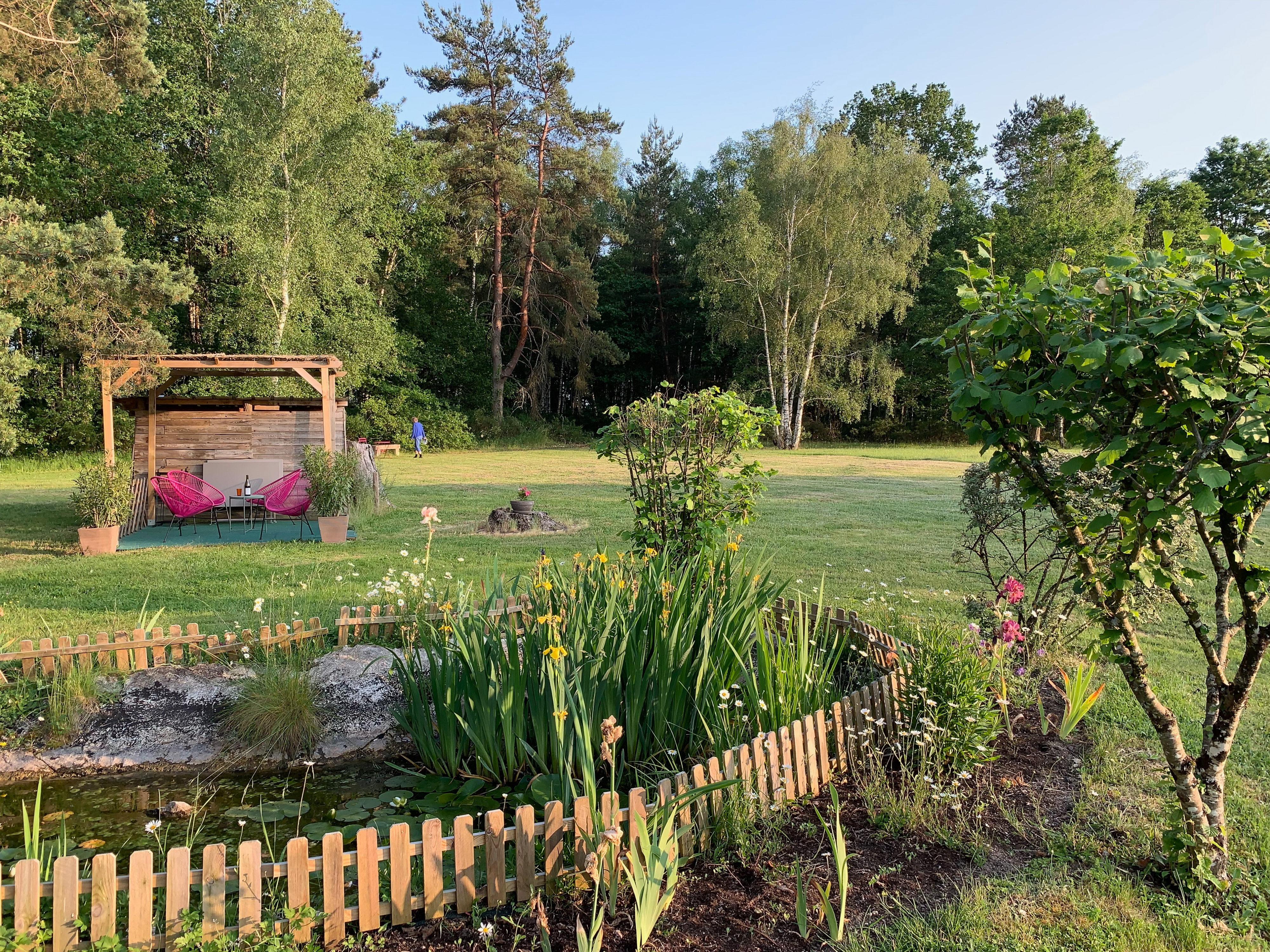 Cheverny – Unterkunft bei Wiesen und Wald