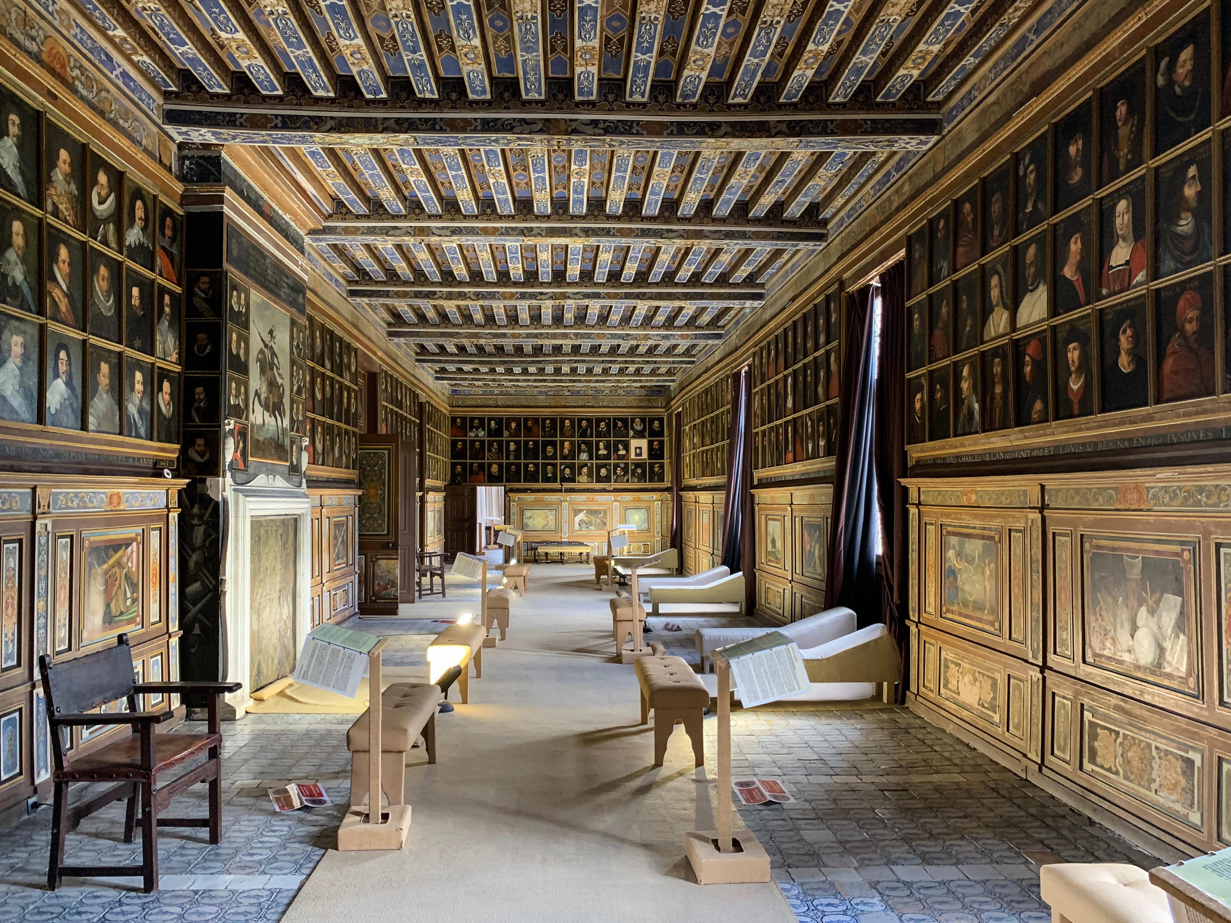 Schloss Beauregard Berühmtheitengalerie