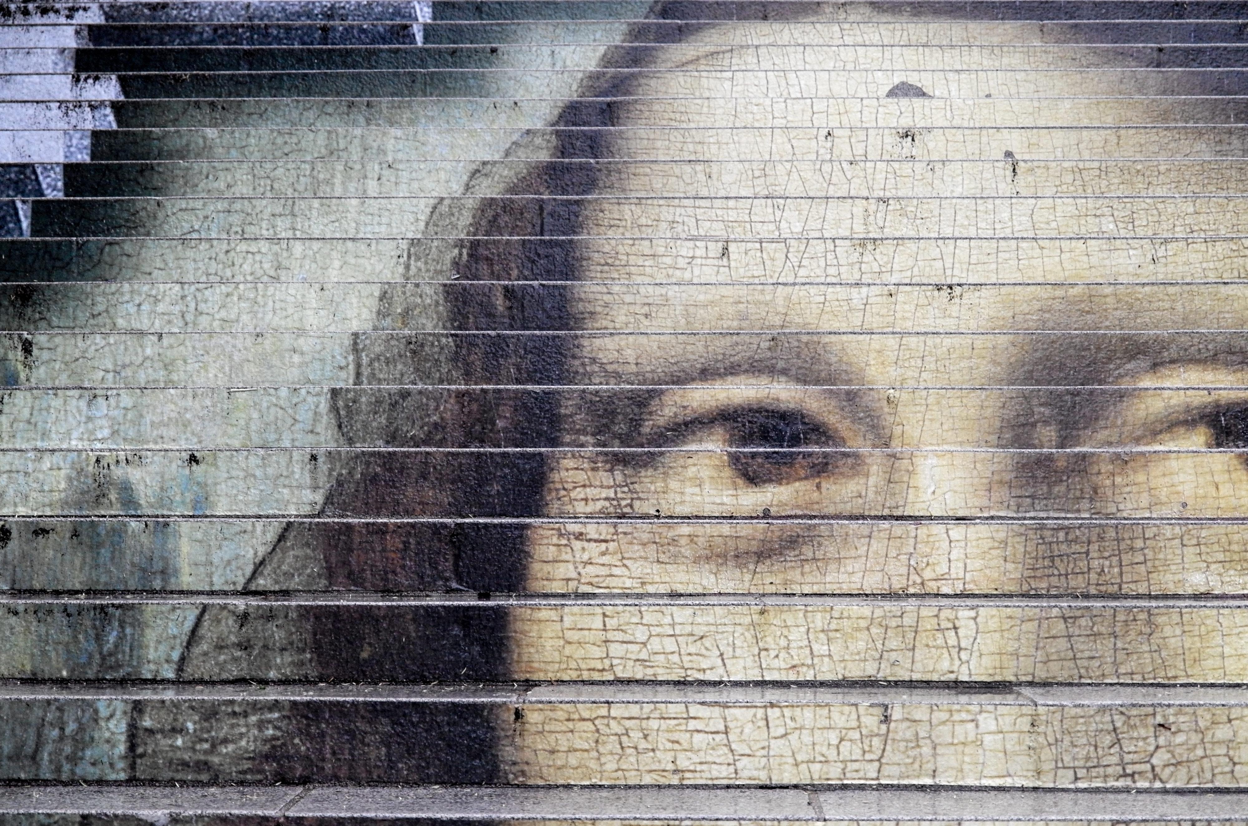 Blois Mona Lisa  fast besser als im Louvre
