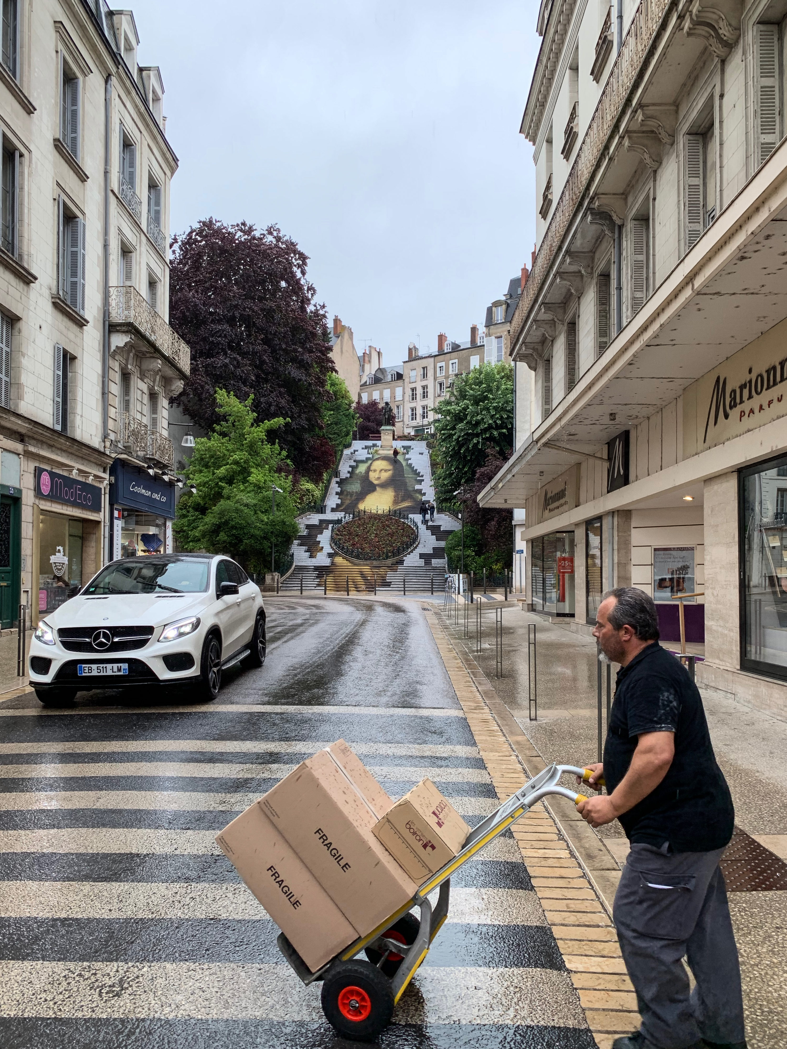 Magie in Blois und Muse in Talcy Mona Lisa