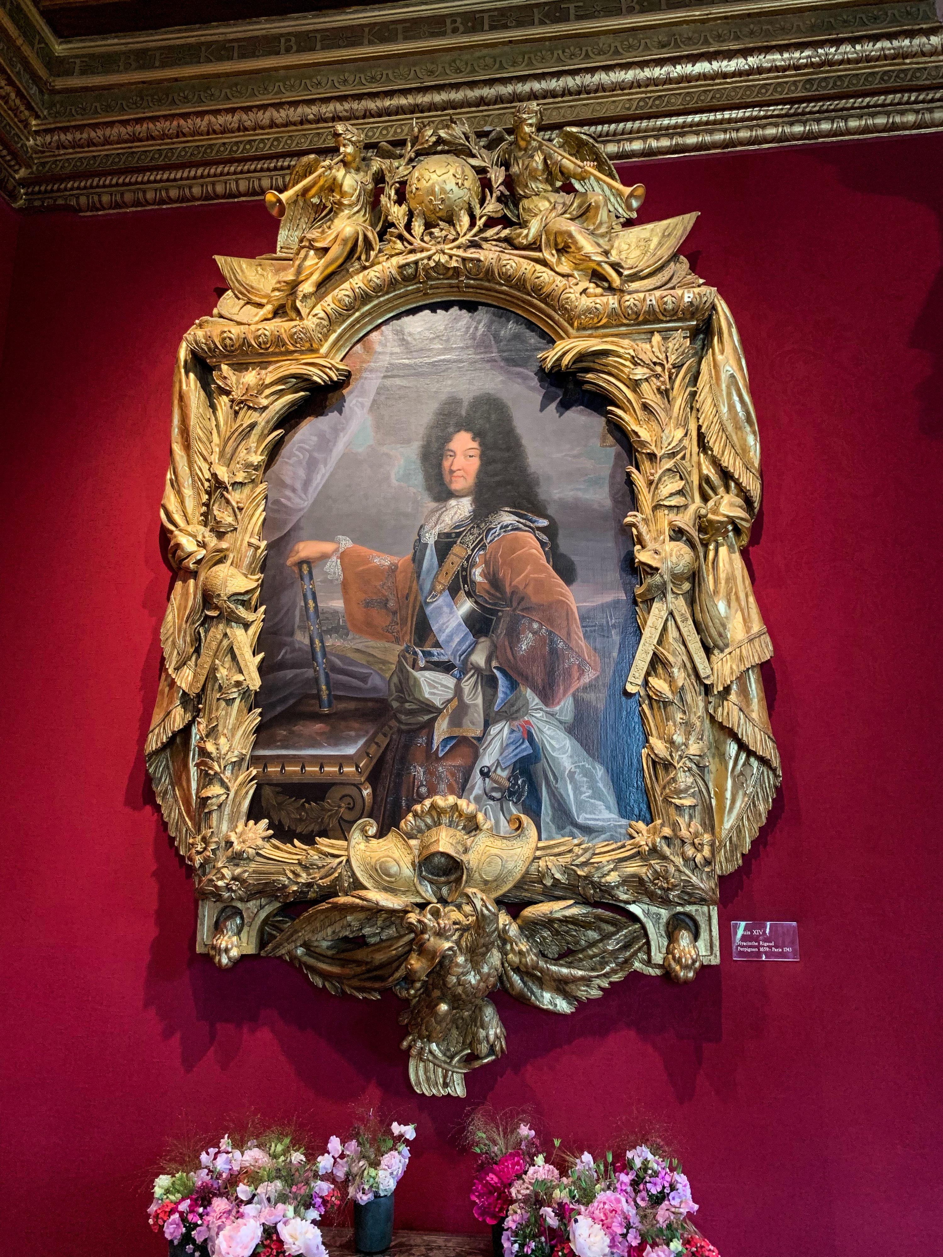Chenonceau Hyacinthe Rigaud Porträt Ludwig XIV.