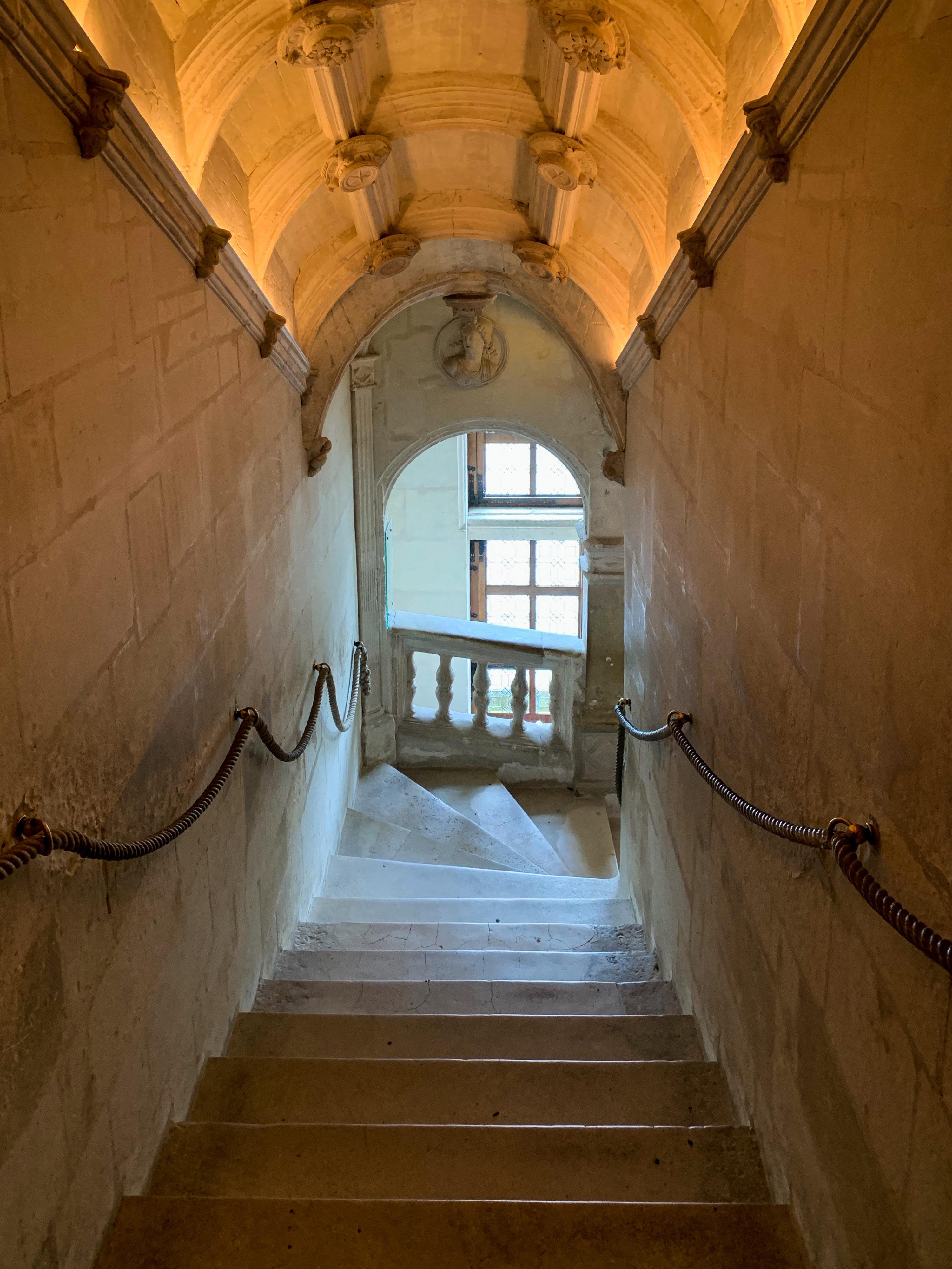 Chenonceau italienische Treppenanlage