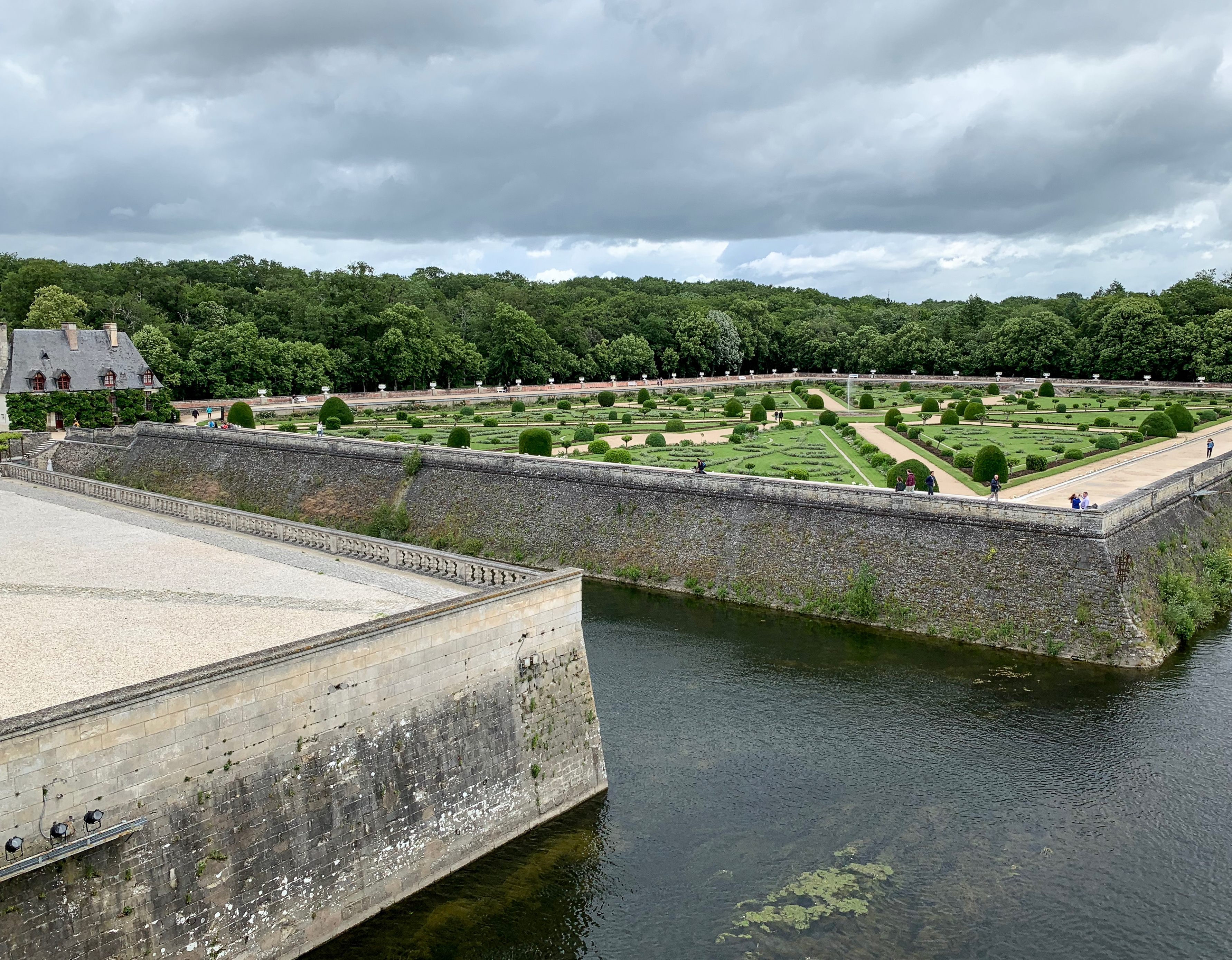 Chenonceau Gartenparterre von Diane de Poitiers