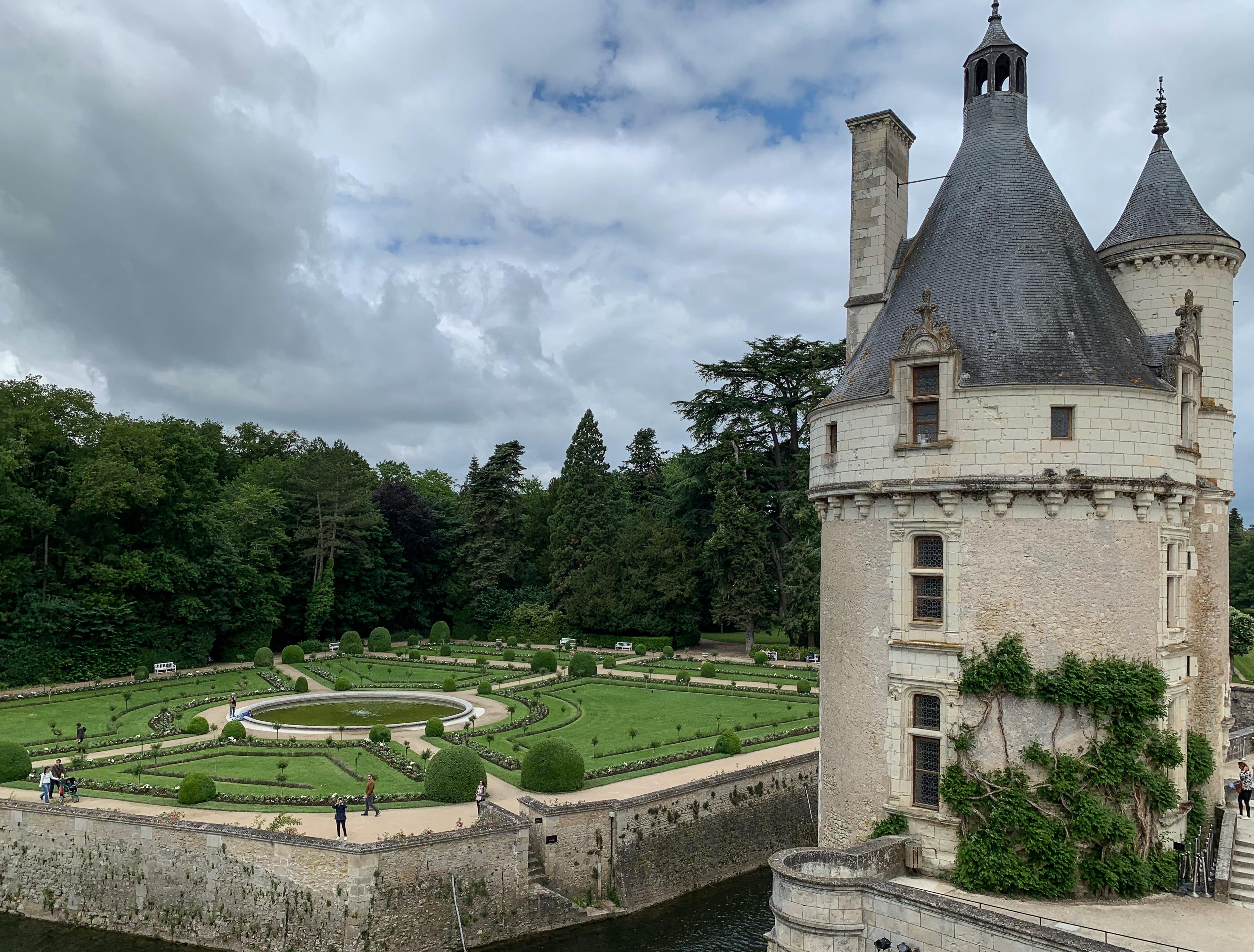 Chenonceau Garten von Katharina de Medici
