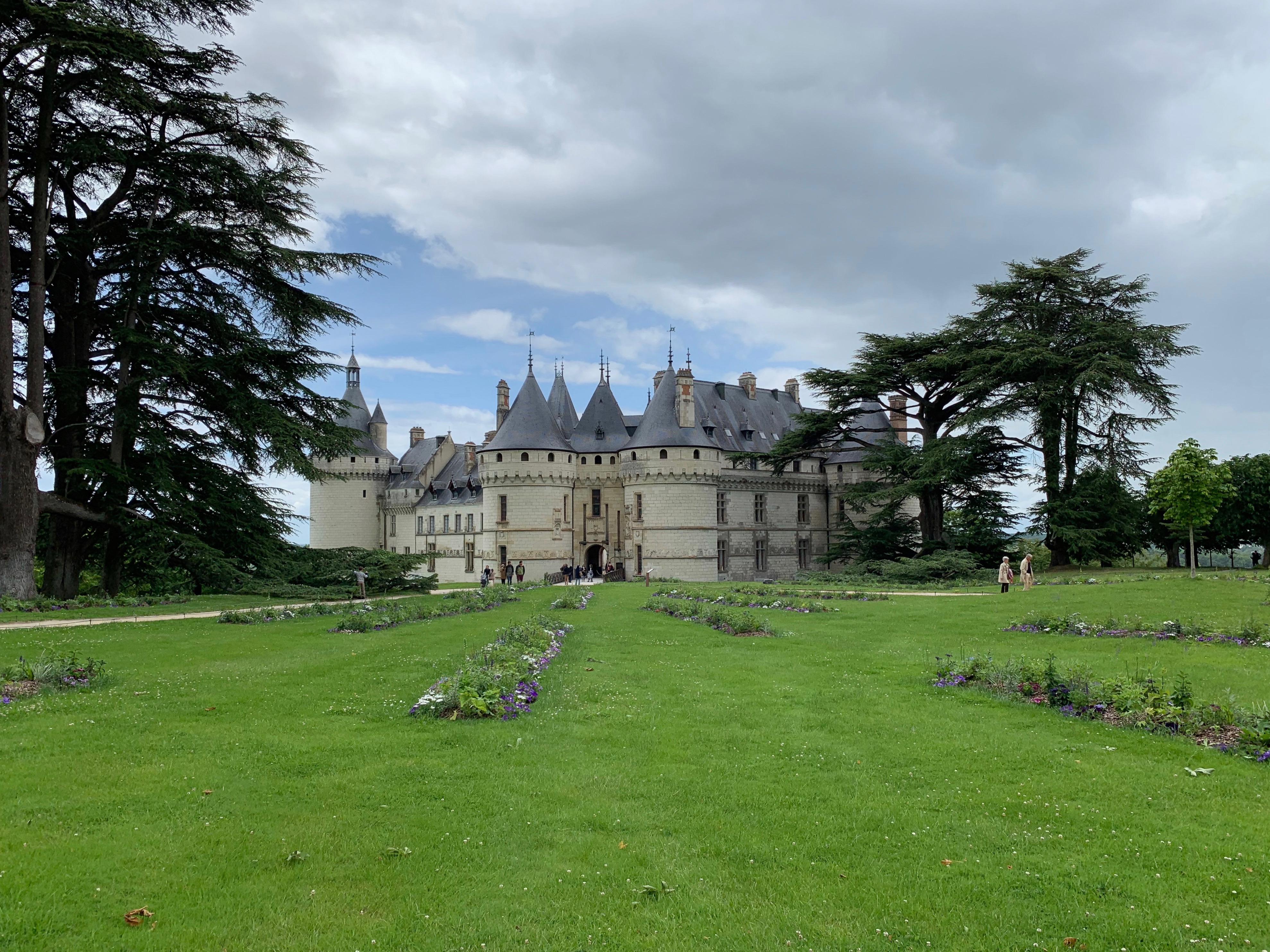 Chaumont, das wehrhafte Schloss über der Loire