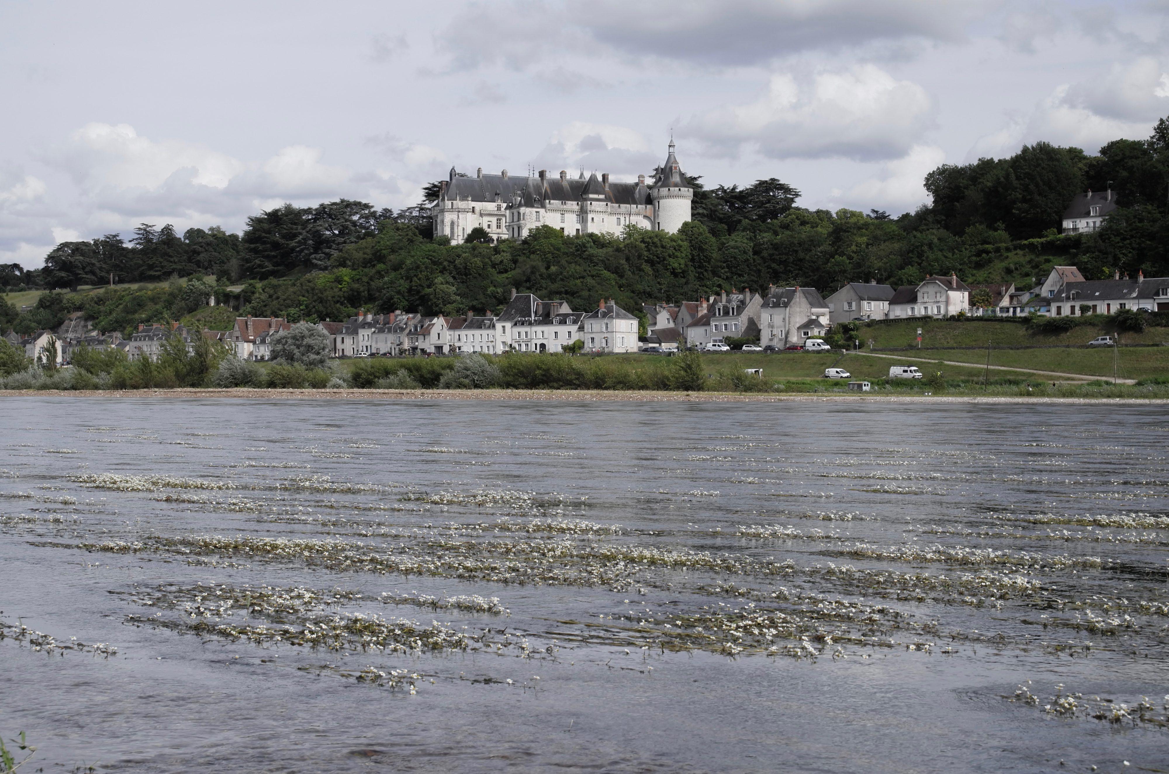 Chaumont von der anderen Loire-Seite