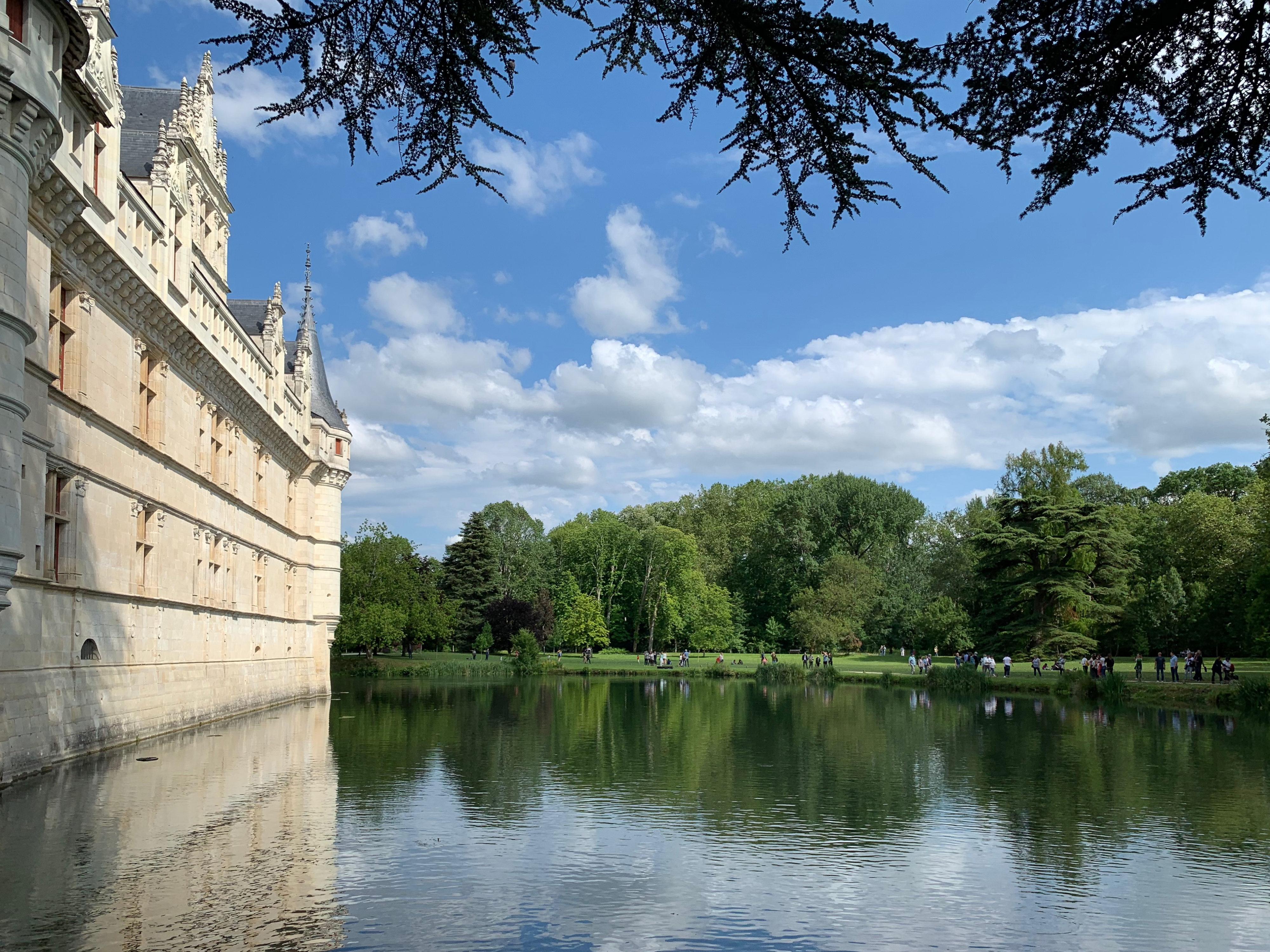 Azay-le-Rideau mit Park