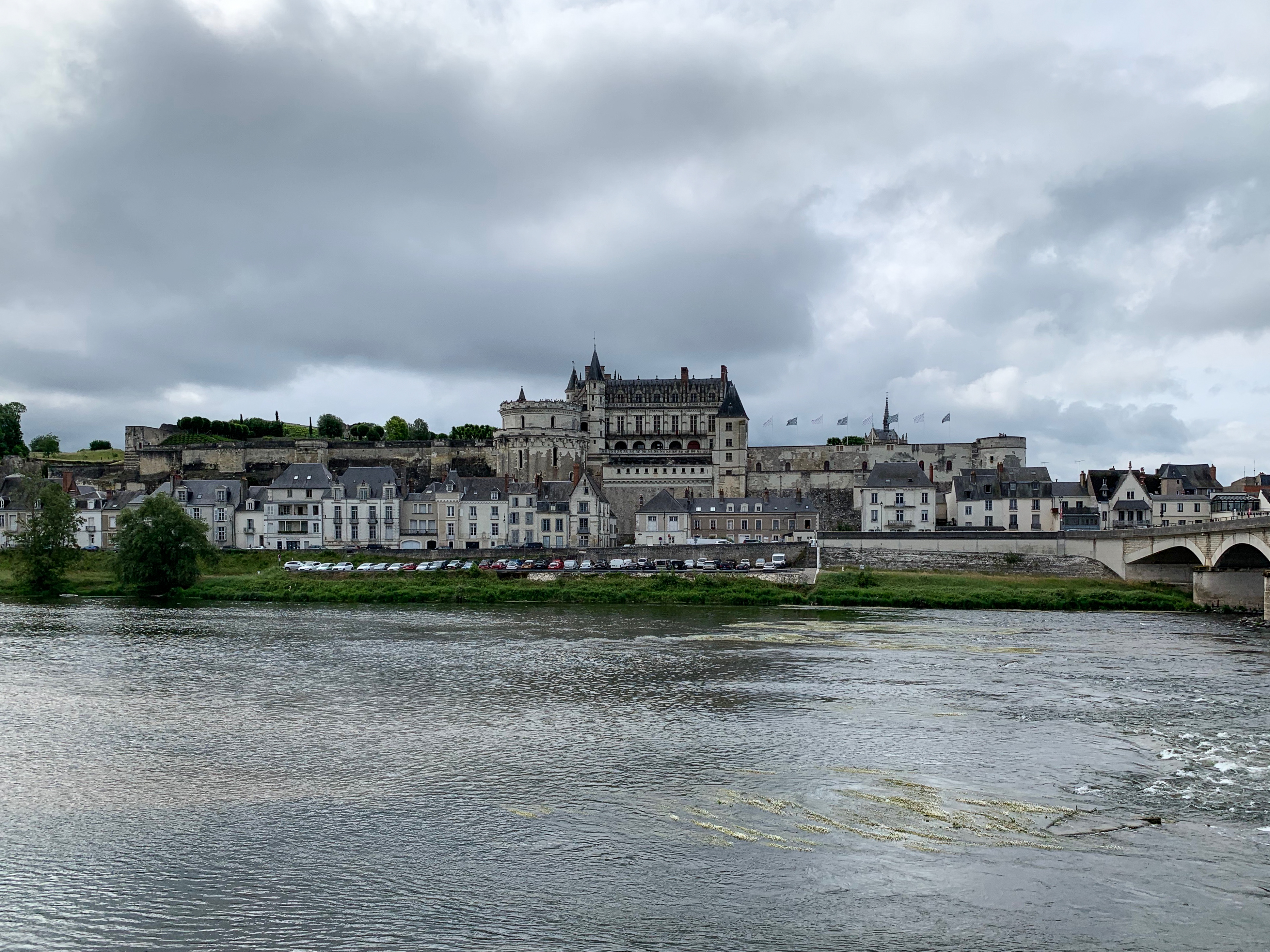Amboise, Königssitz und letzter Lebensort von Leonardo von N rechts der Loire