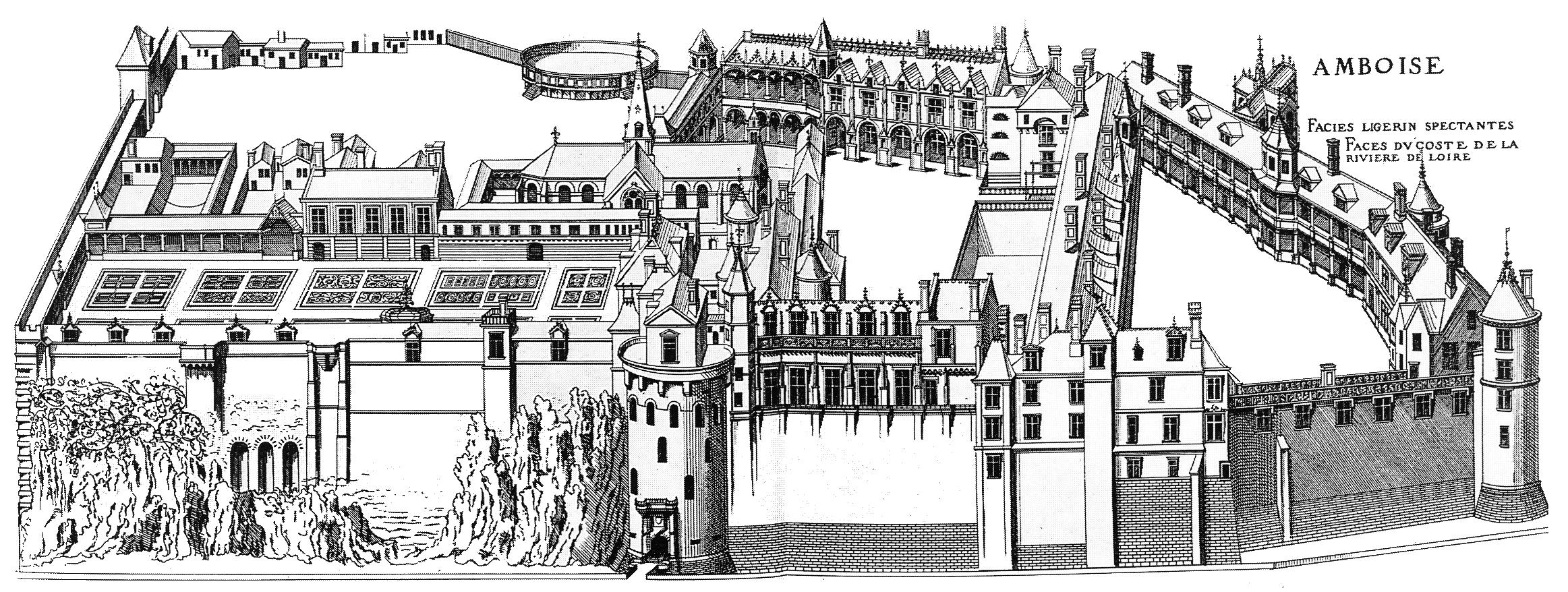 Schloss Amboise von du Cerceau 1576