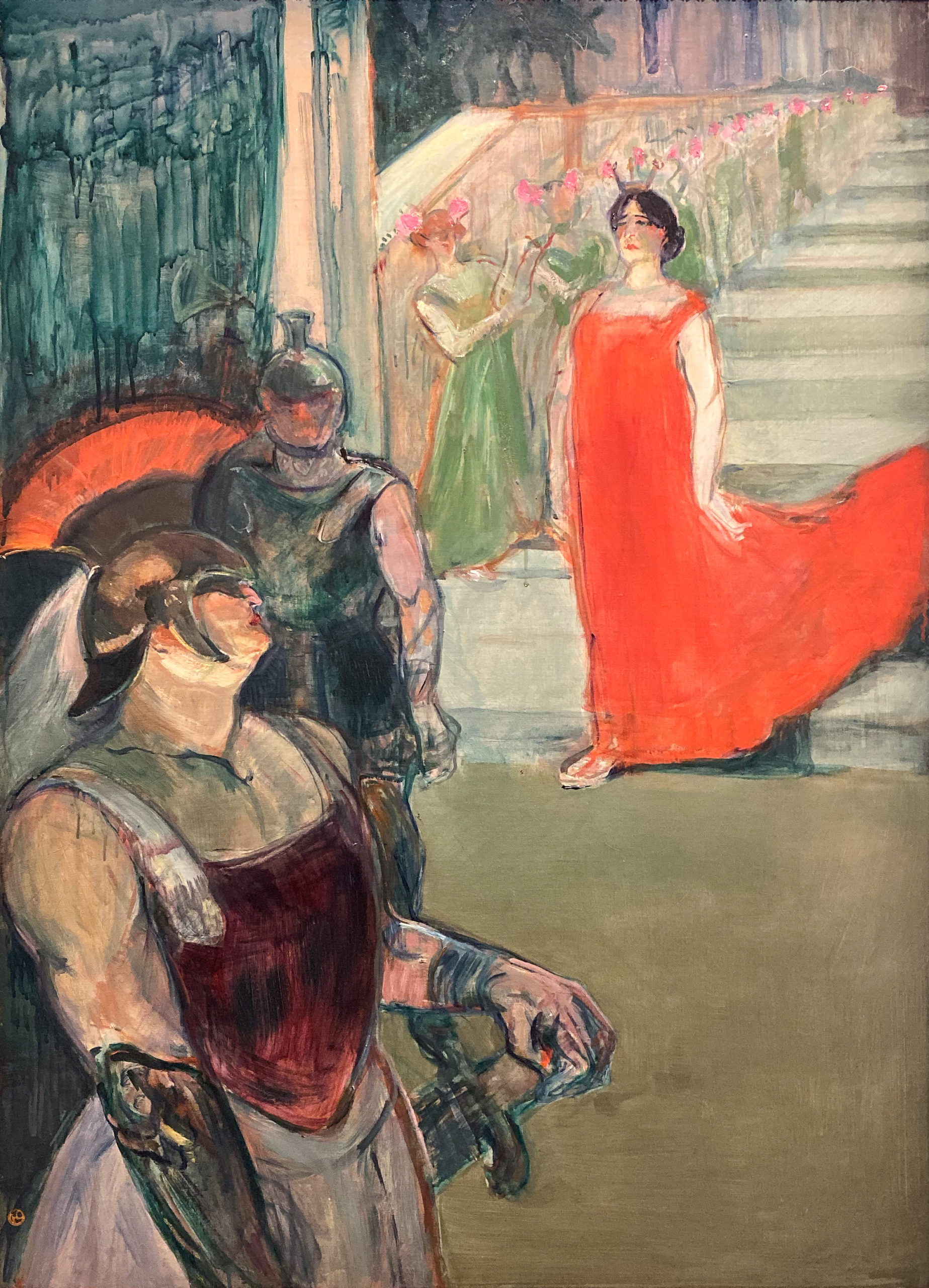 Toulouse-Lautrec im Grand Palais 2019/20 Messalina