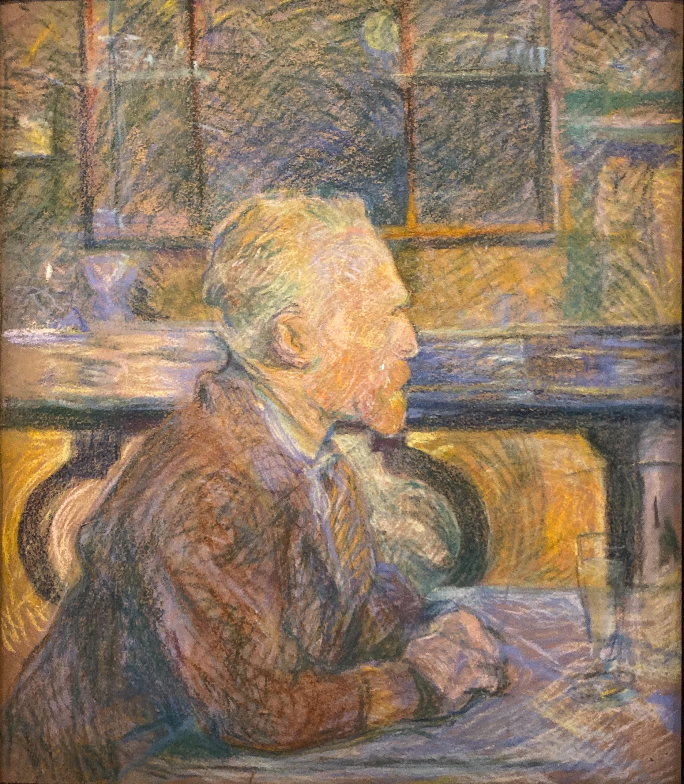 Toulouse-Lautrec im Grand Palais 2019/20 Van Gogh