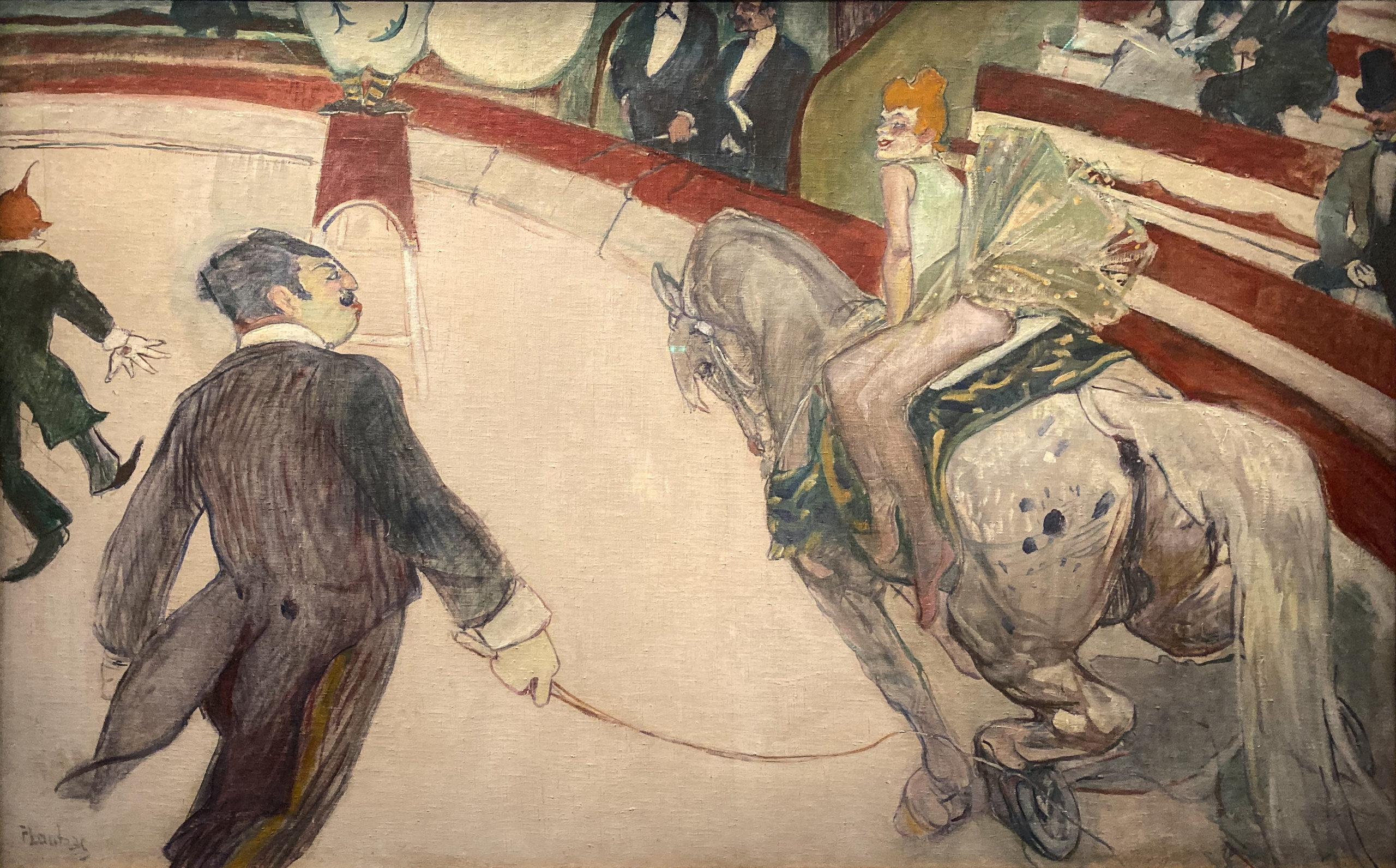 Toulouse-Lautrec im Grand Palais 2019/20 Zirkus Fernando