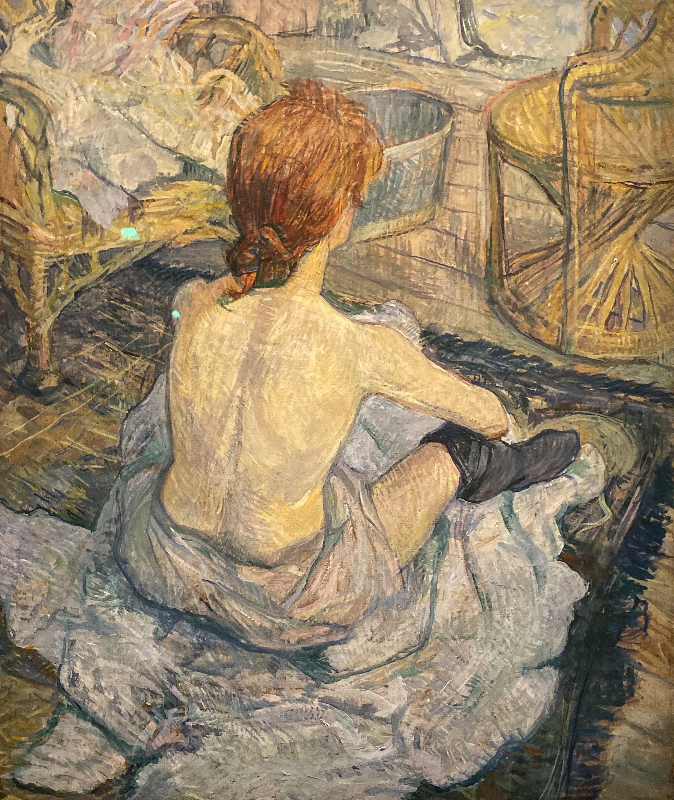 Toulouse-Lautrec im Grand Palais 2019/20 La Toilette - Carmen Gaudin
