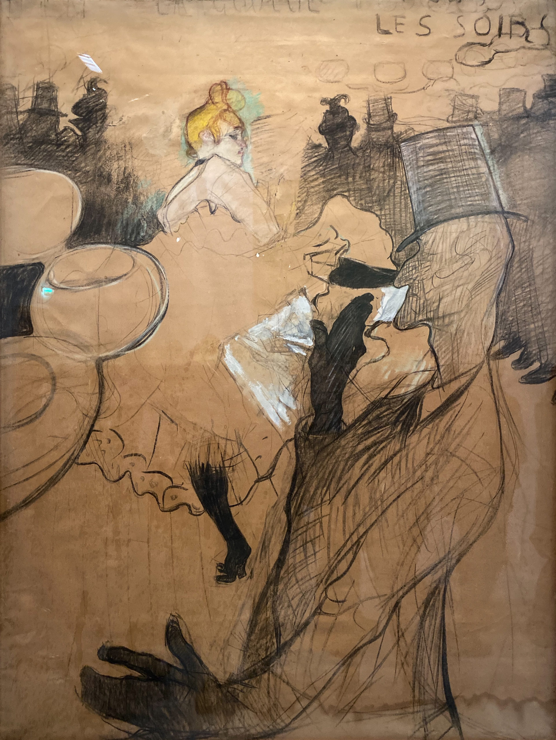 Toulouse-Lautrec im Grand Palais 2019/20 Moulin Rouge mit La Goulue