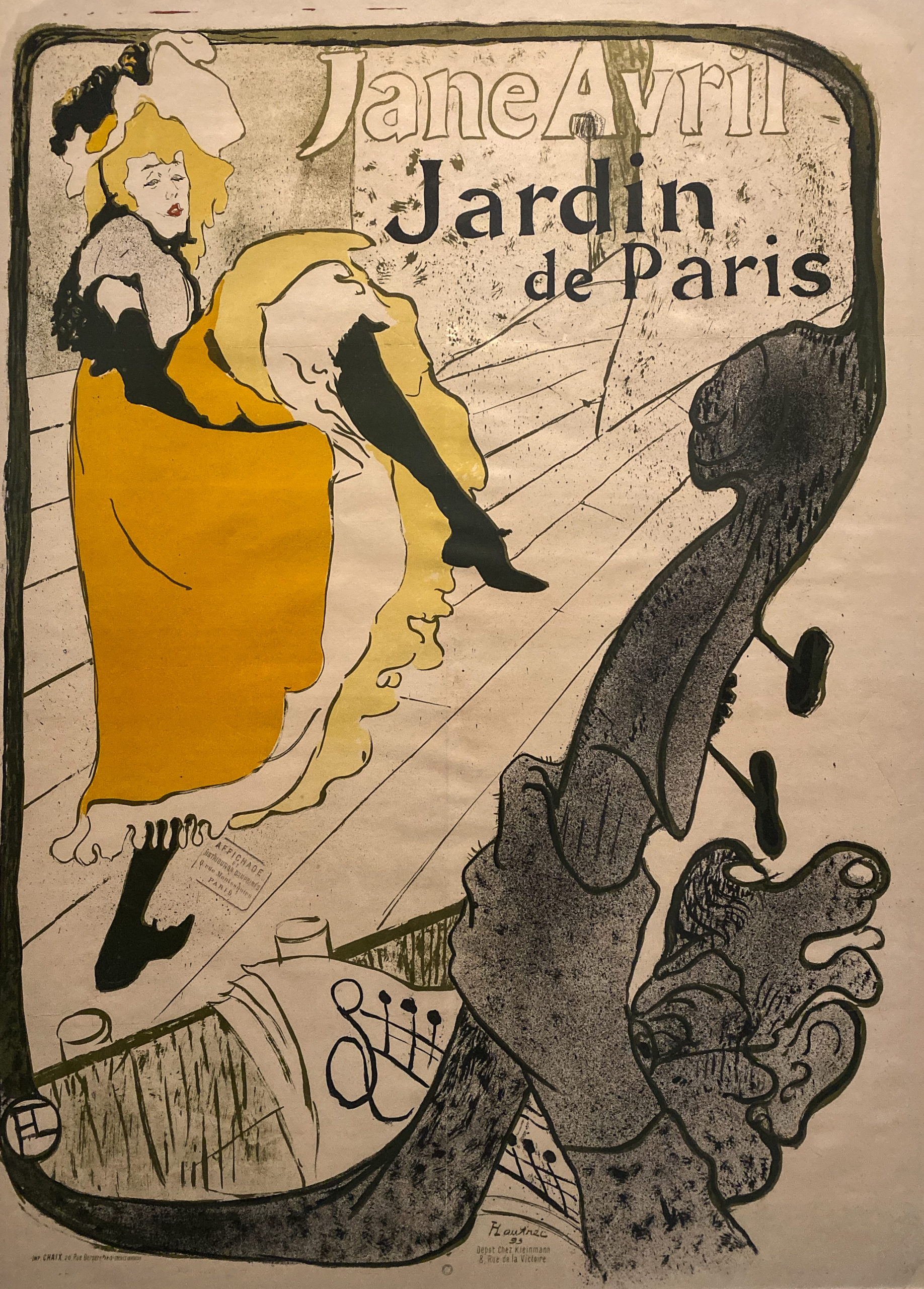 Toulouse-Lautrec im Grand Palais 2019/20 Jane Avril