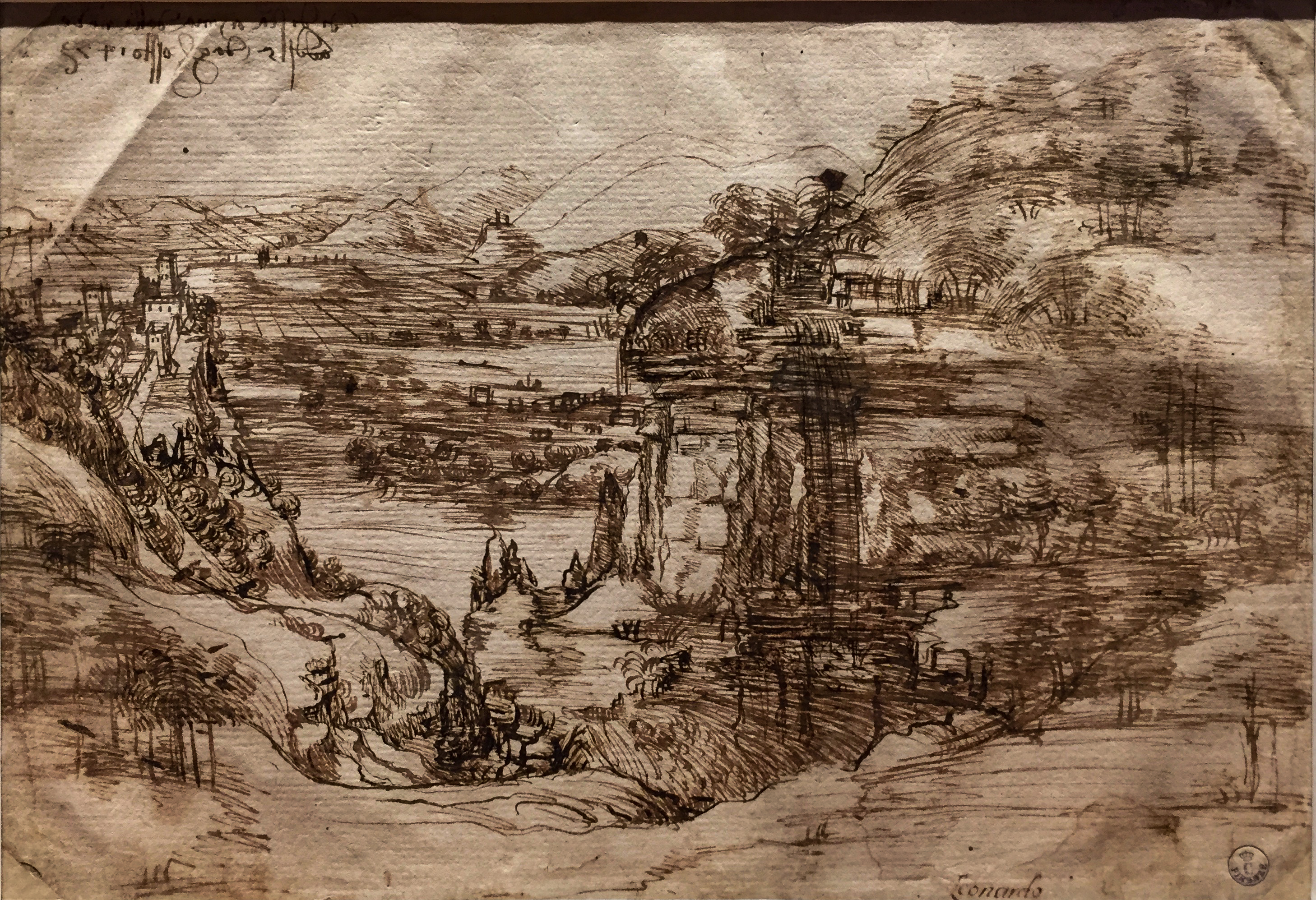 Leonardo da Vinci – Jahrhundertausstellung im Louvre Arnotal 1473