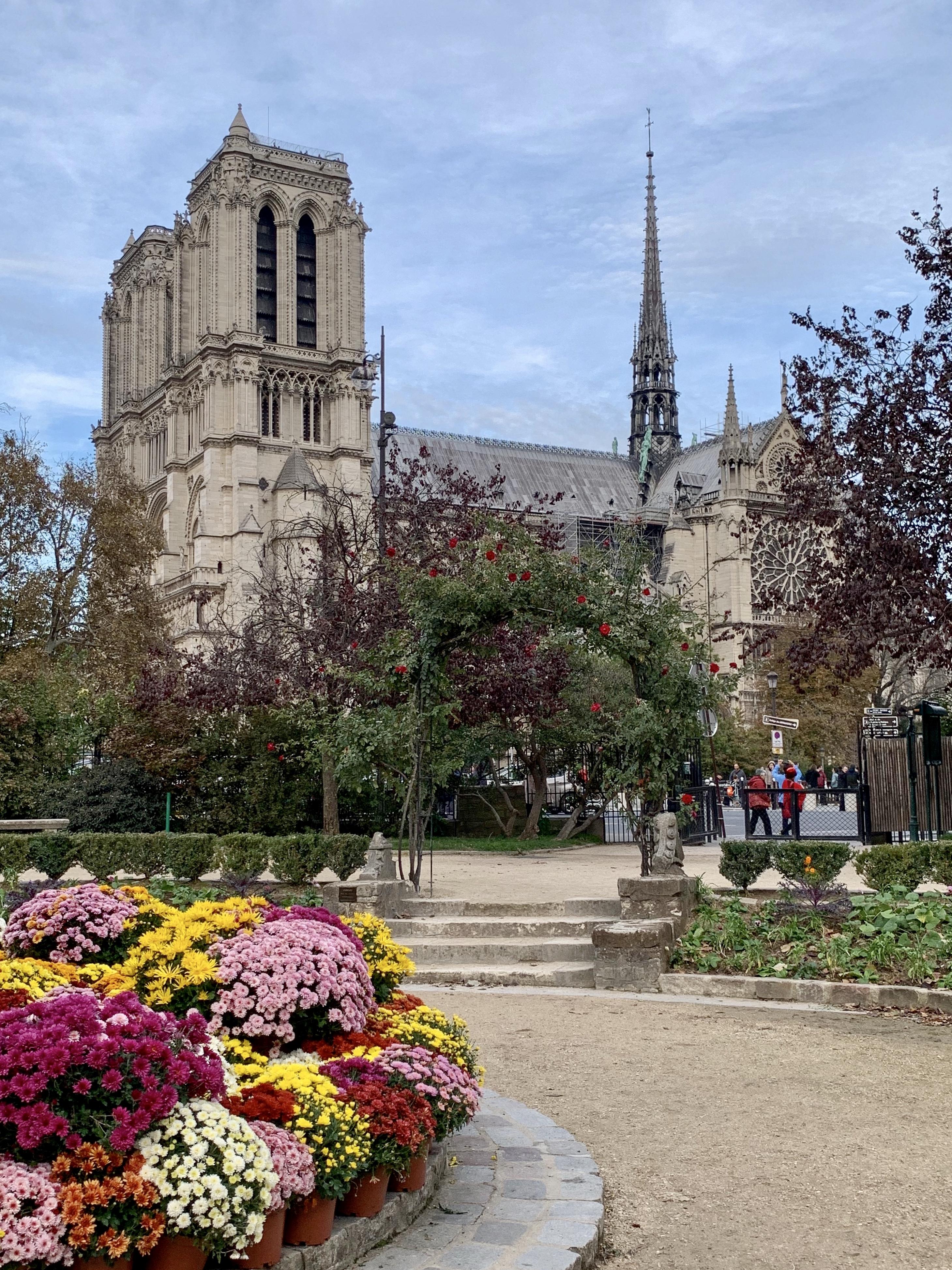 Notre-Dame im Koma – man sieht fast niemanden, der ein halbes Jahr nach dem Unheil nicht sehr betreten vor dem grandiosen und so schwer betroffenen Baudenkmal steht oder es umwandert. Notre-Dame ist eine traurig stimmende Sehenswürdigkeit geworden, nachdem sie für Jahrhunderte eine beglückende gewesen ist und ein einzigartiger Stolz Frankreichs und ganz Europas.