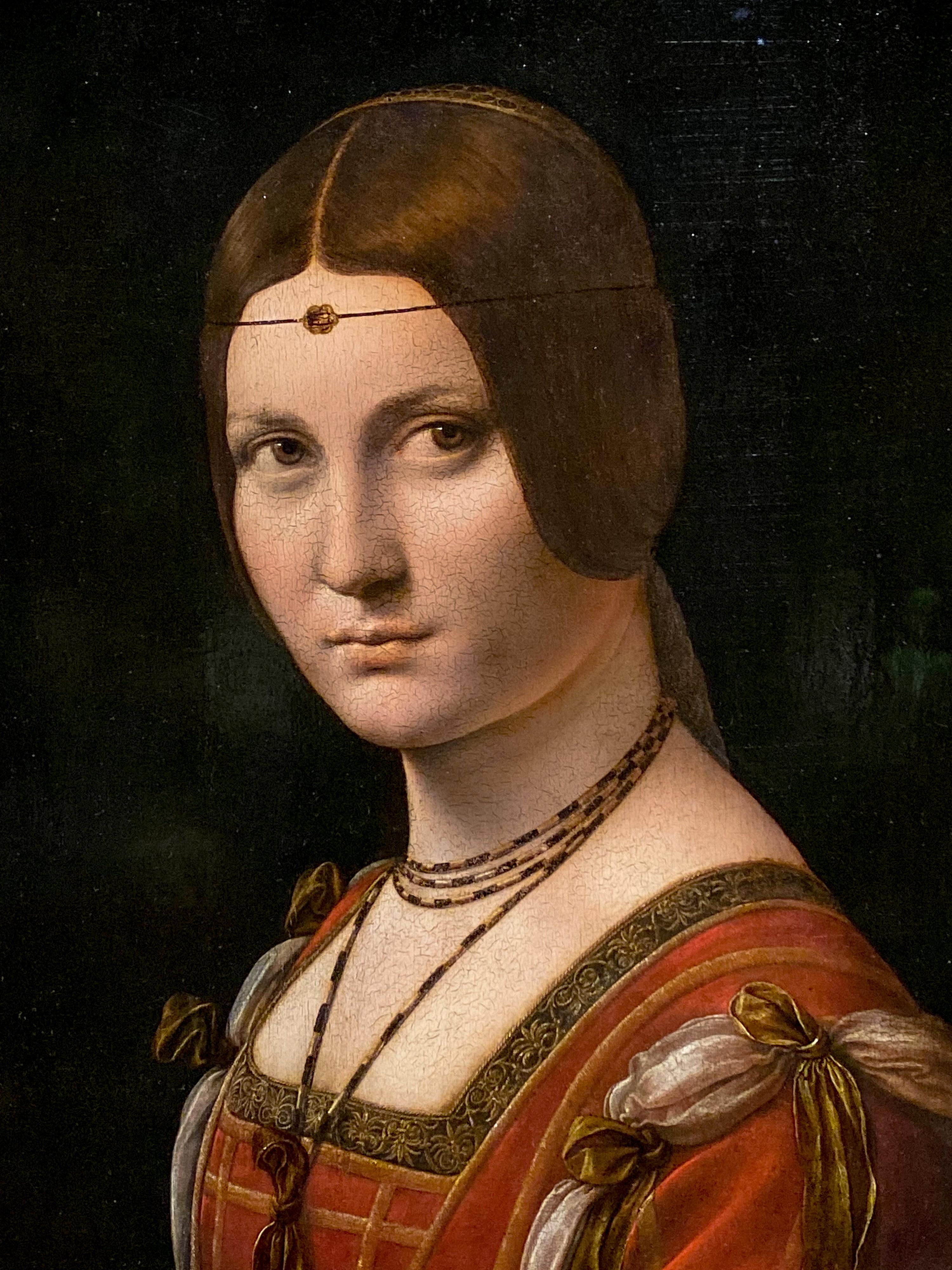 Leonardo da Vinci – Jahrhundertausstellung im Louvre Dame Mailänder Hof