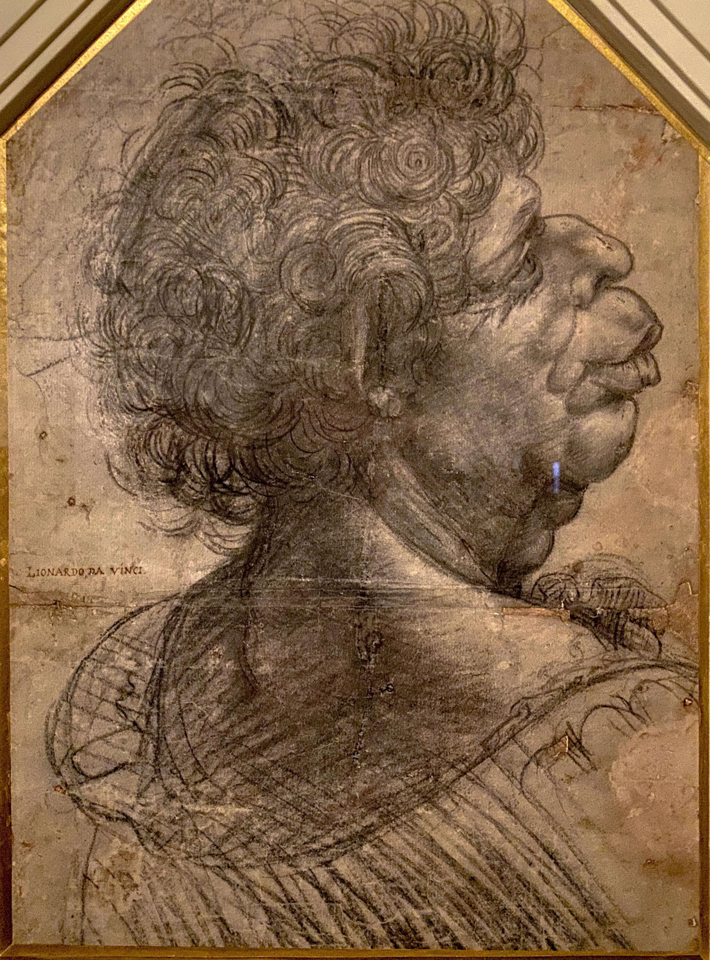 Leonardo Groteske Figur Christ Church