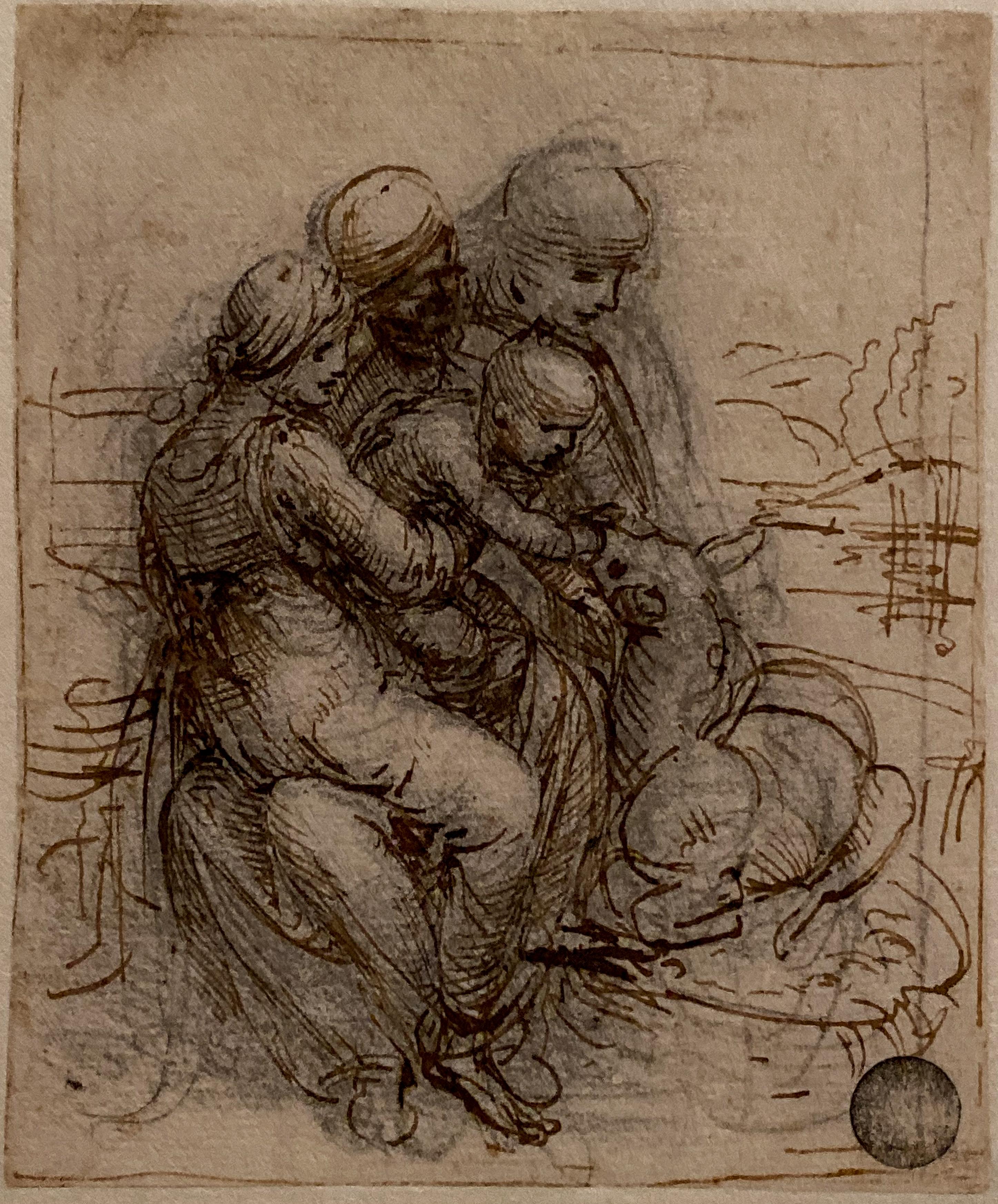 Leonardo Anna Selbdritt Venedig