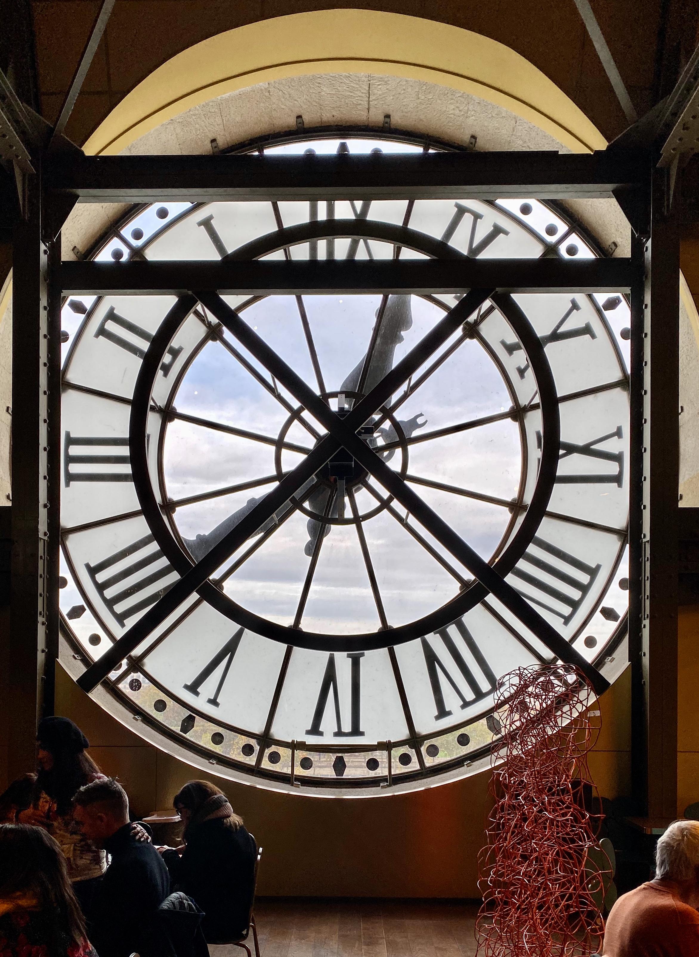 Musée d'Orsay Bahnhofsuhr von innen