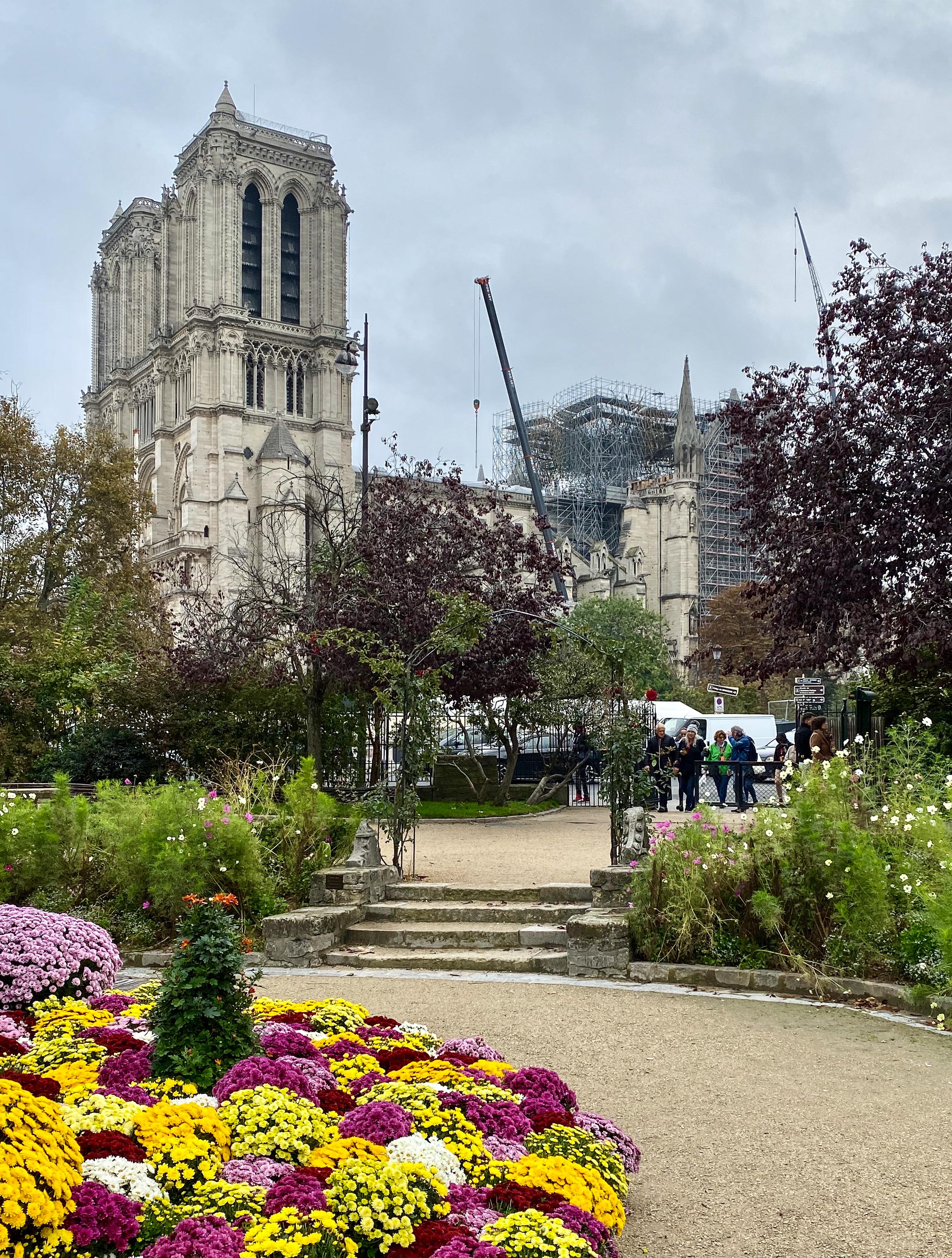 Notre-Dame im Koma – Oktober 2019