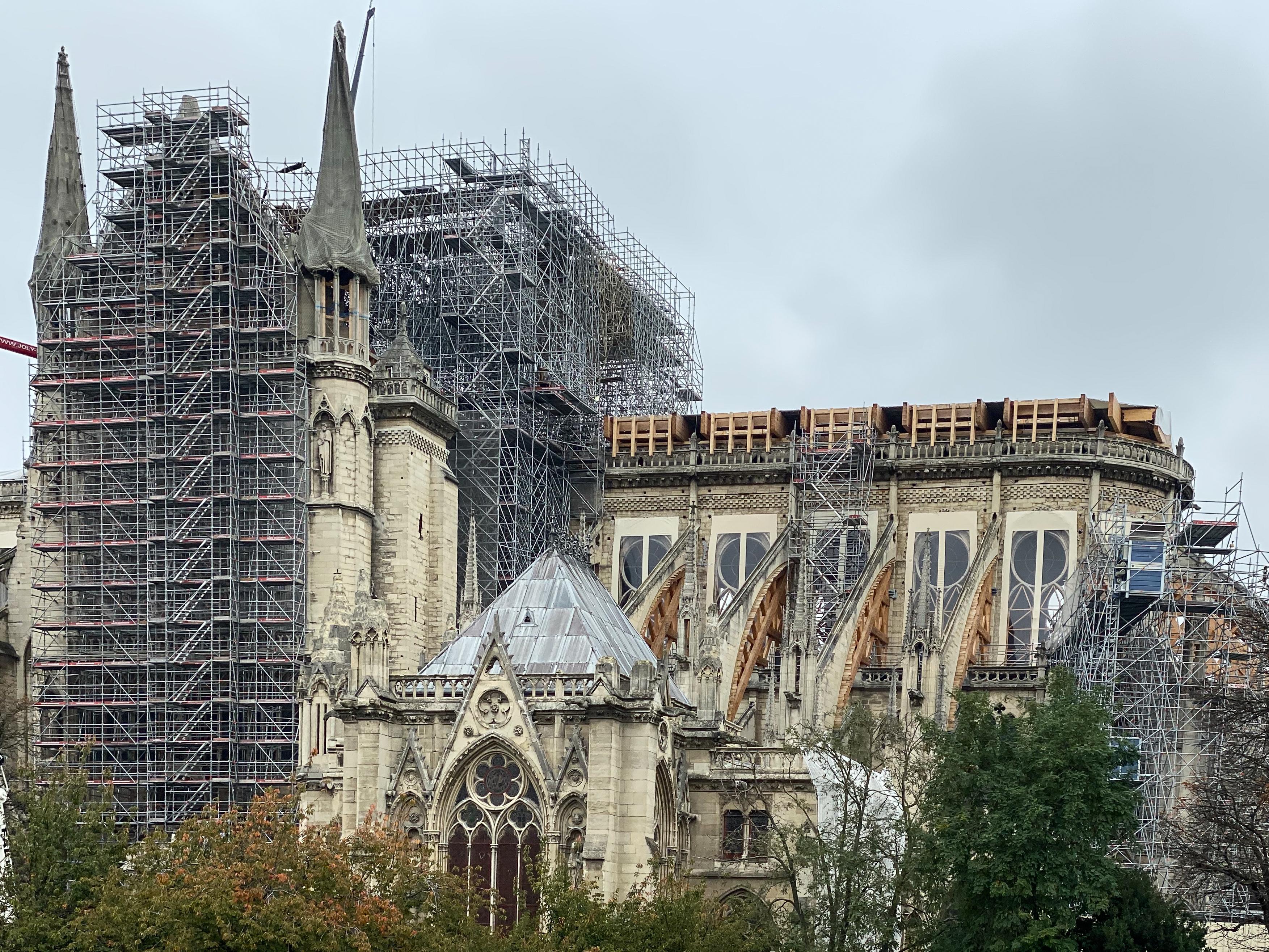 Notre-Dame im Koma – 10/2019