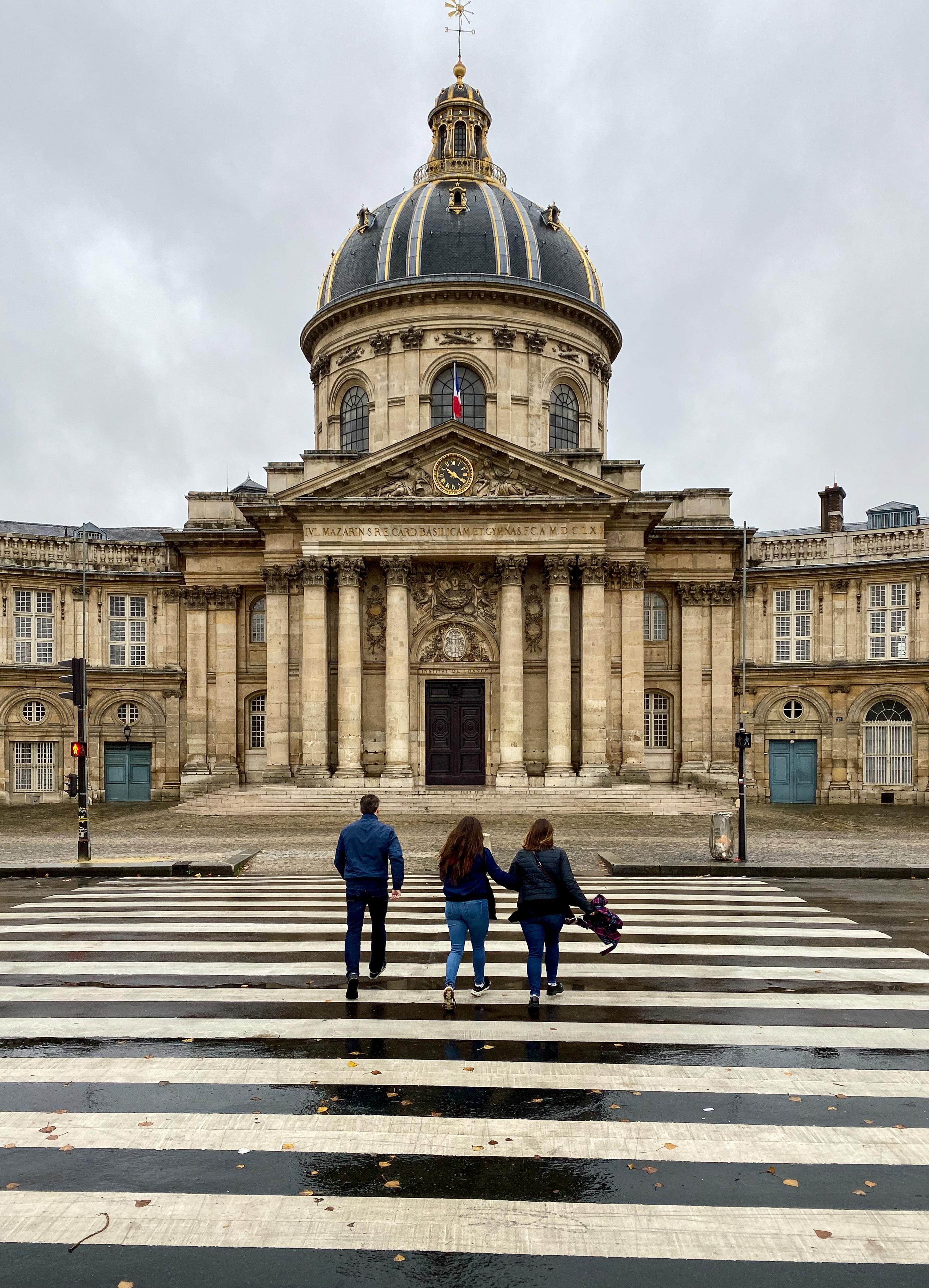 Paris im Dauerregen 2019 – Institut de France