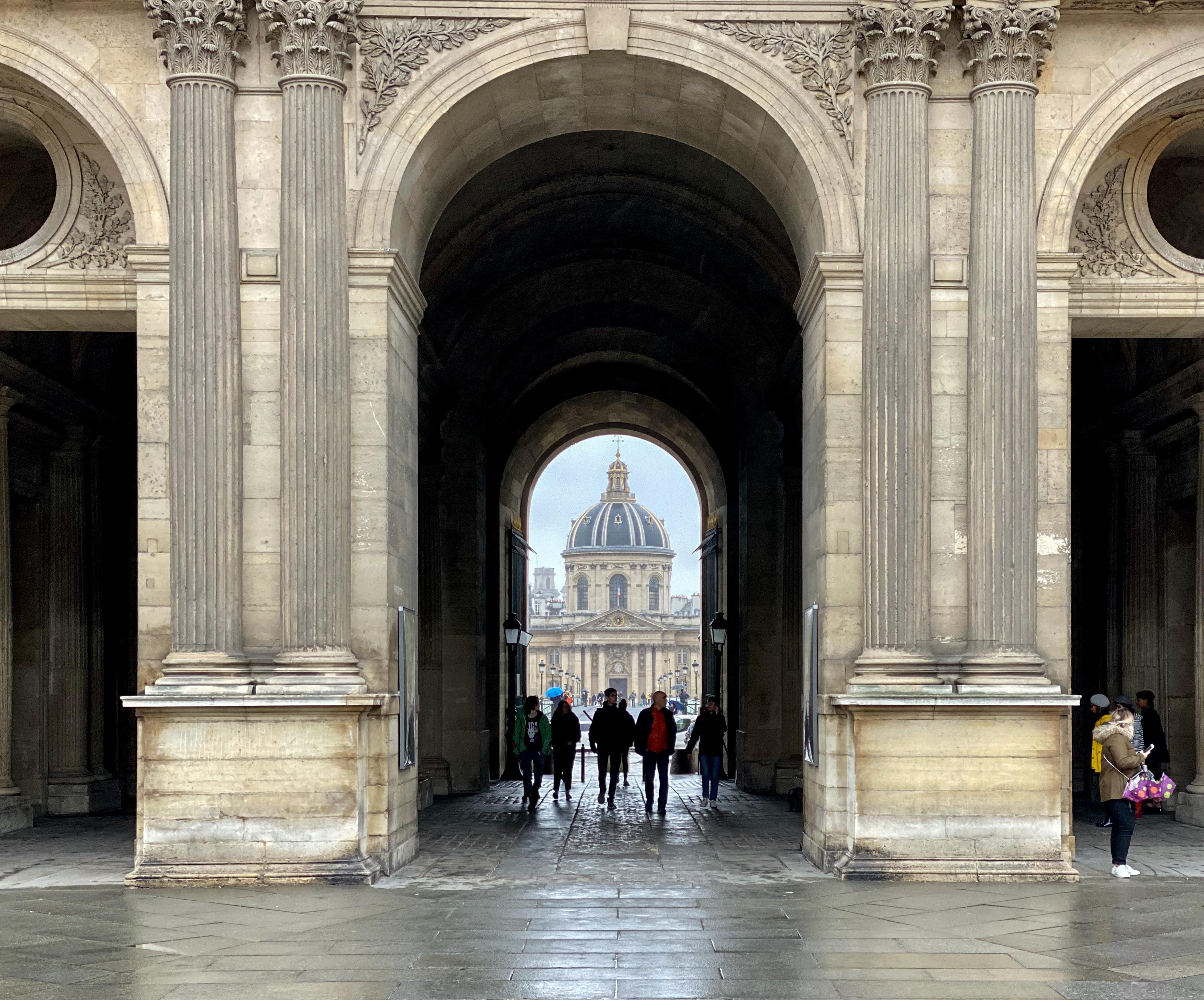 Paris im Dauerregen 2019 – Porte des Arts