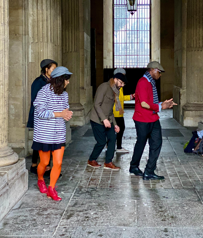 Paris Dancing in the rain