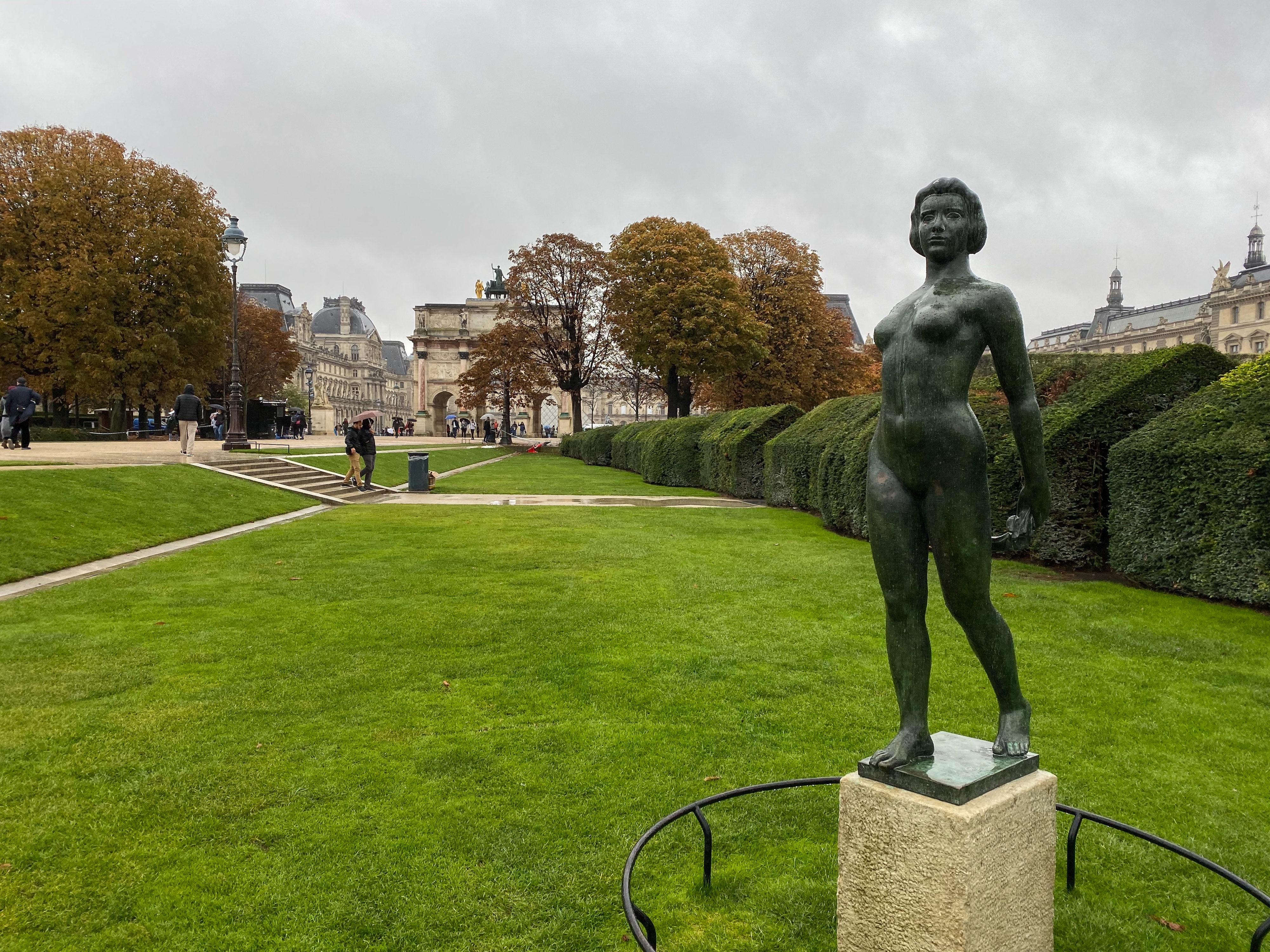 Paris Jardin du Carrousel Maillol