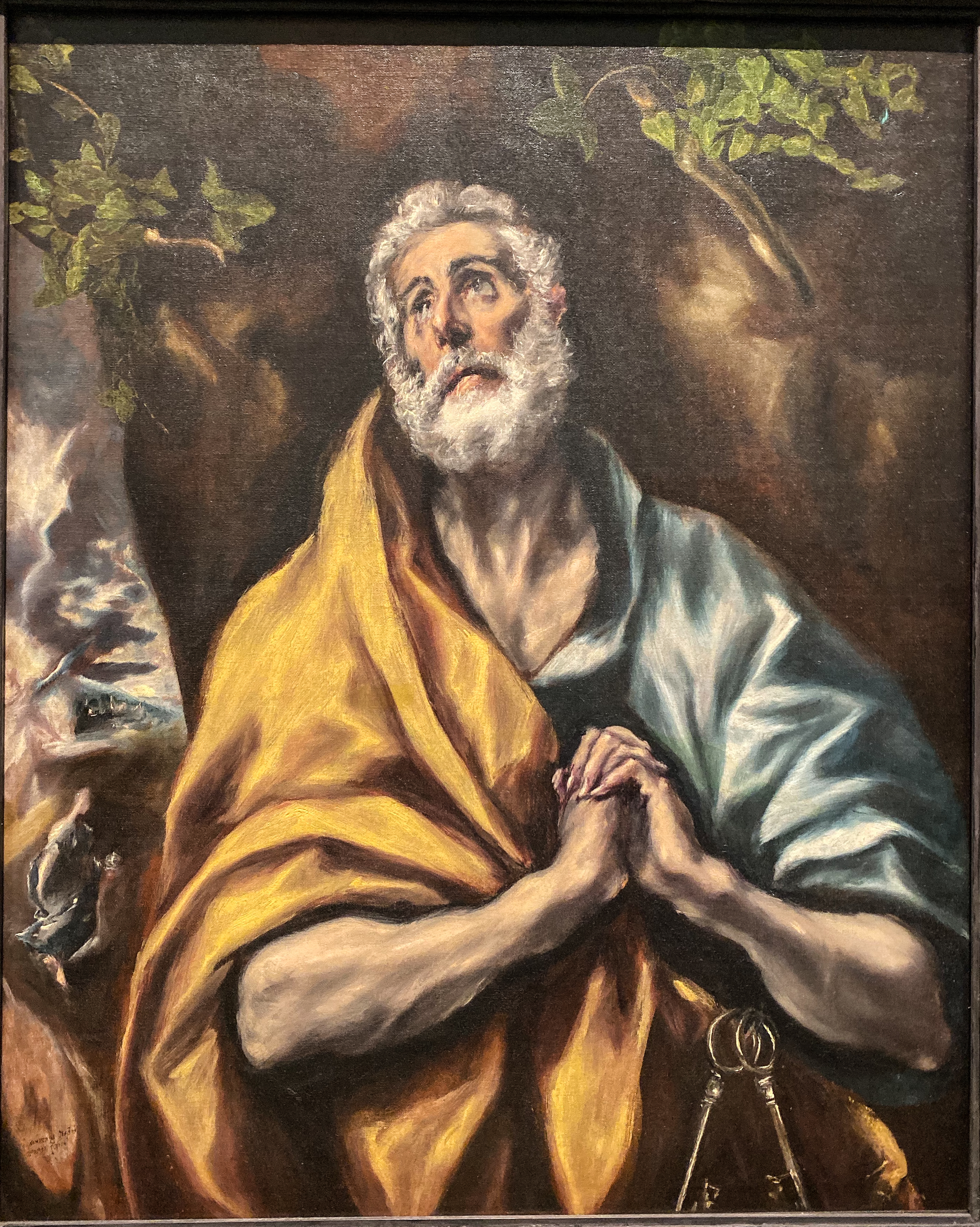 El Greco Hl. Petrus Phillips Collection