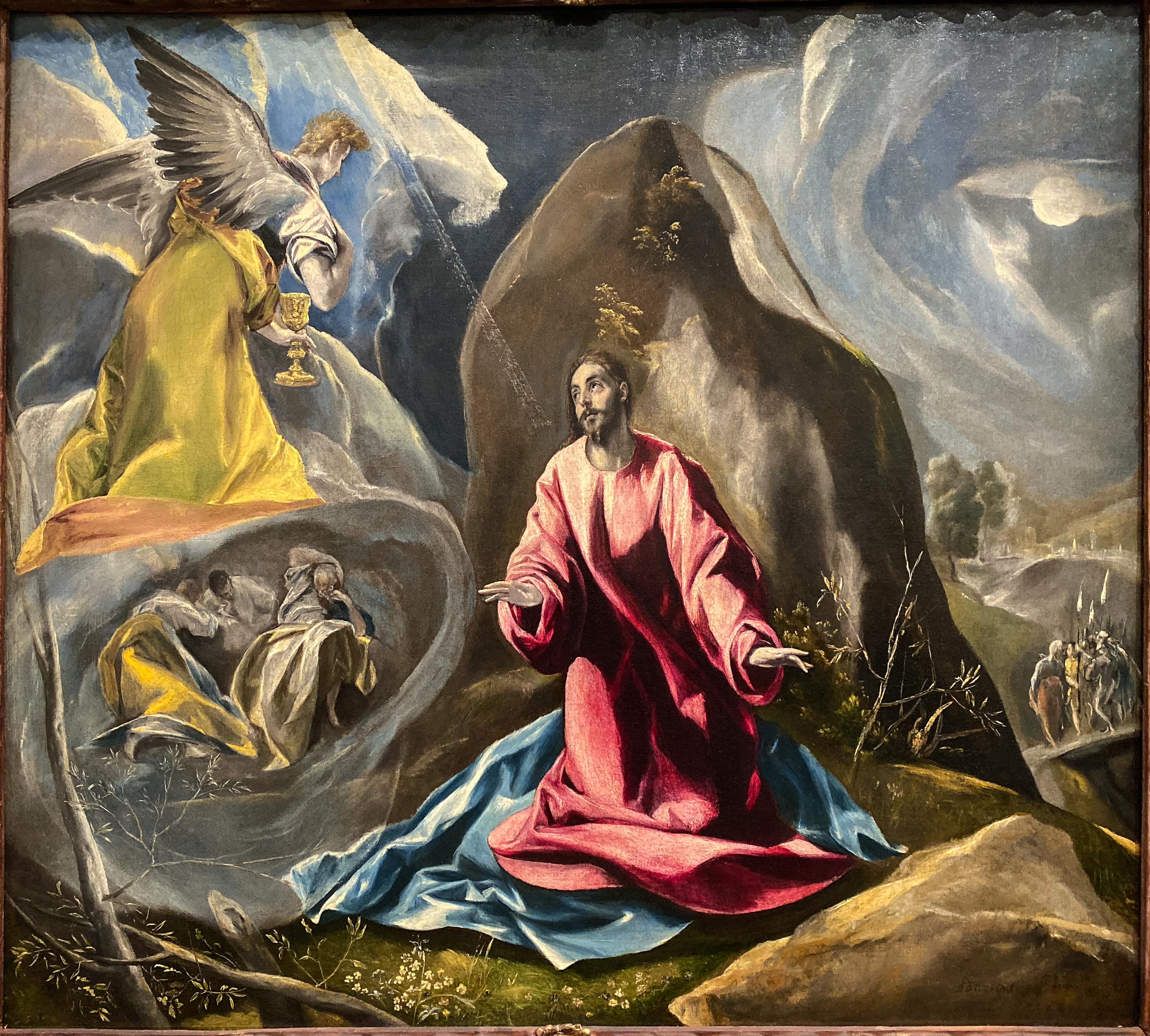El Greco Garten Gethsemane