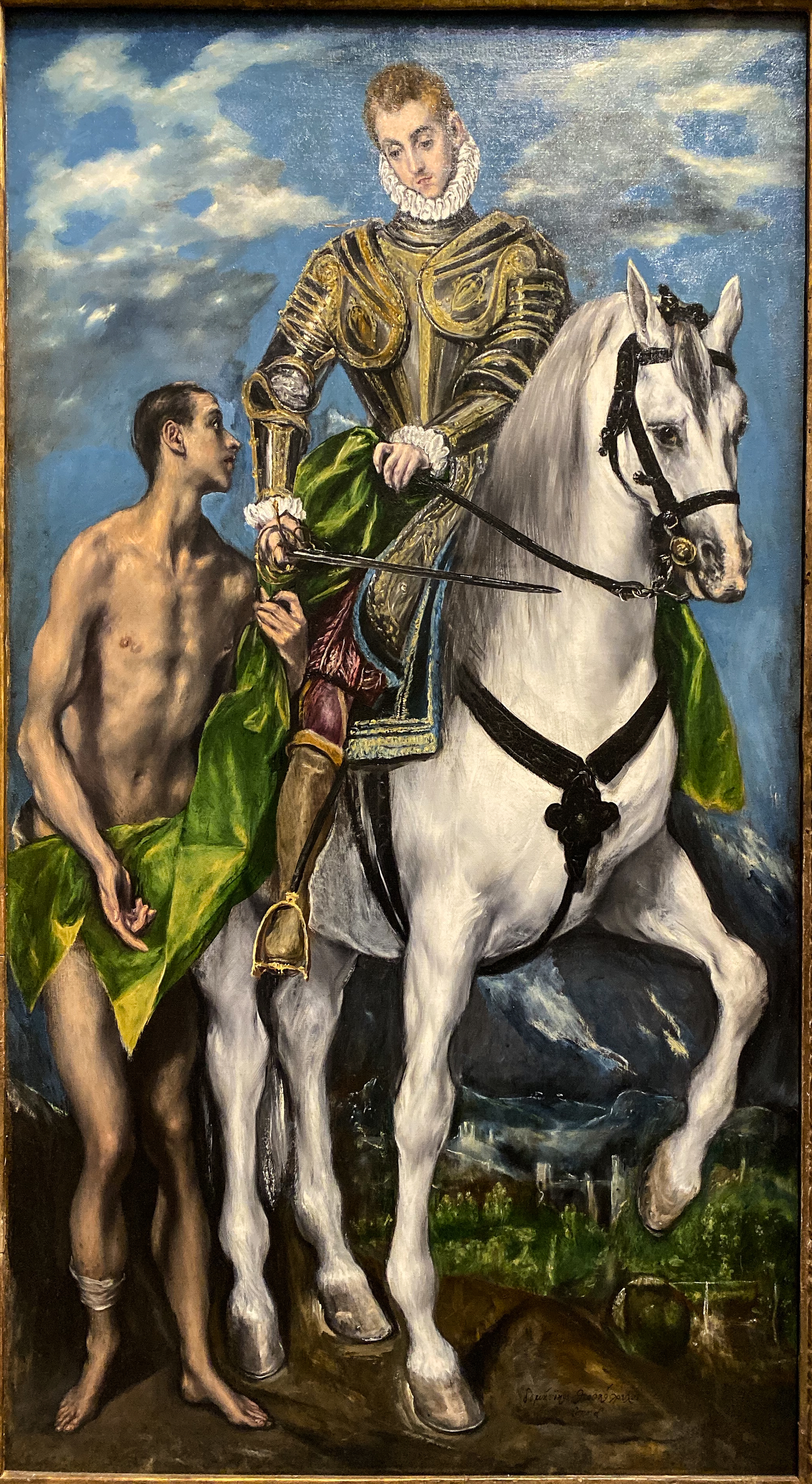 El Greco im Grand Palais in Paris – Hl. Martin Washington