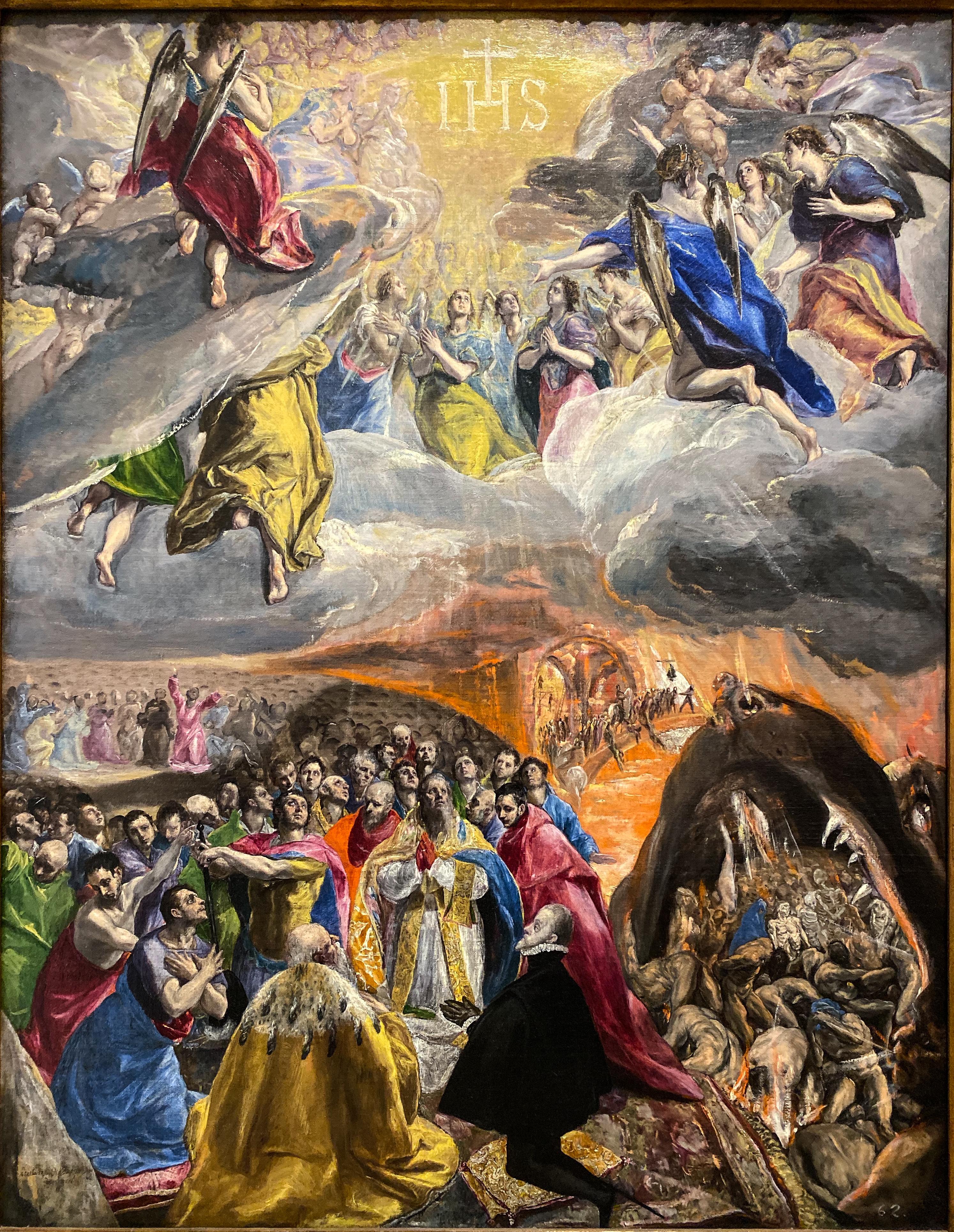 El Greco Anbetung des Namen Jesu
