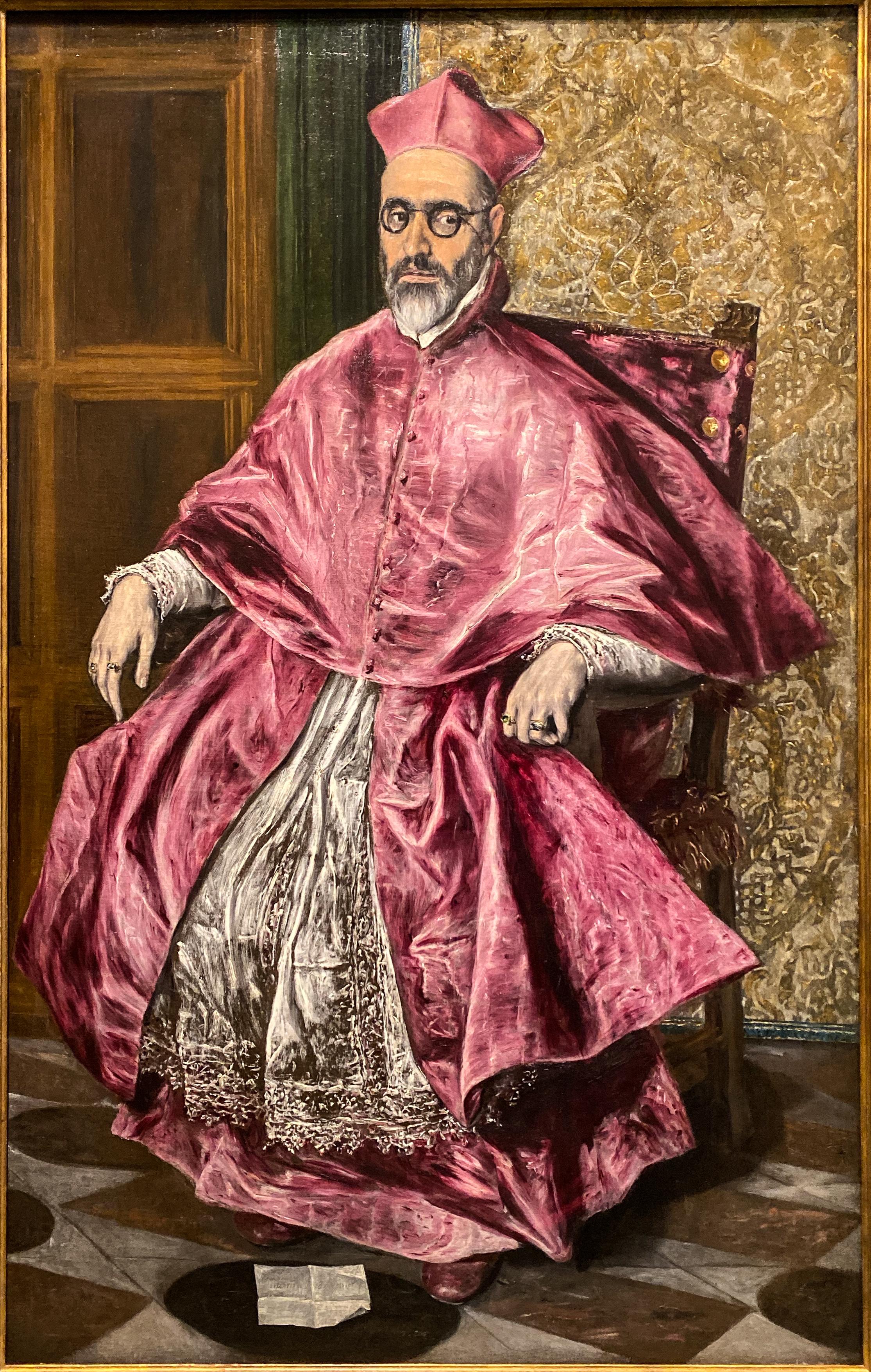 El Greco im Grand Palais in Paris – Großinquisitor Metropolitan Museum
